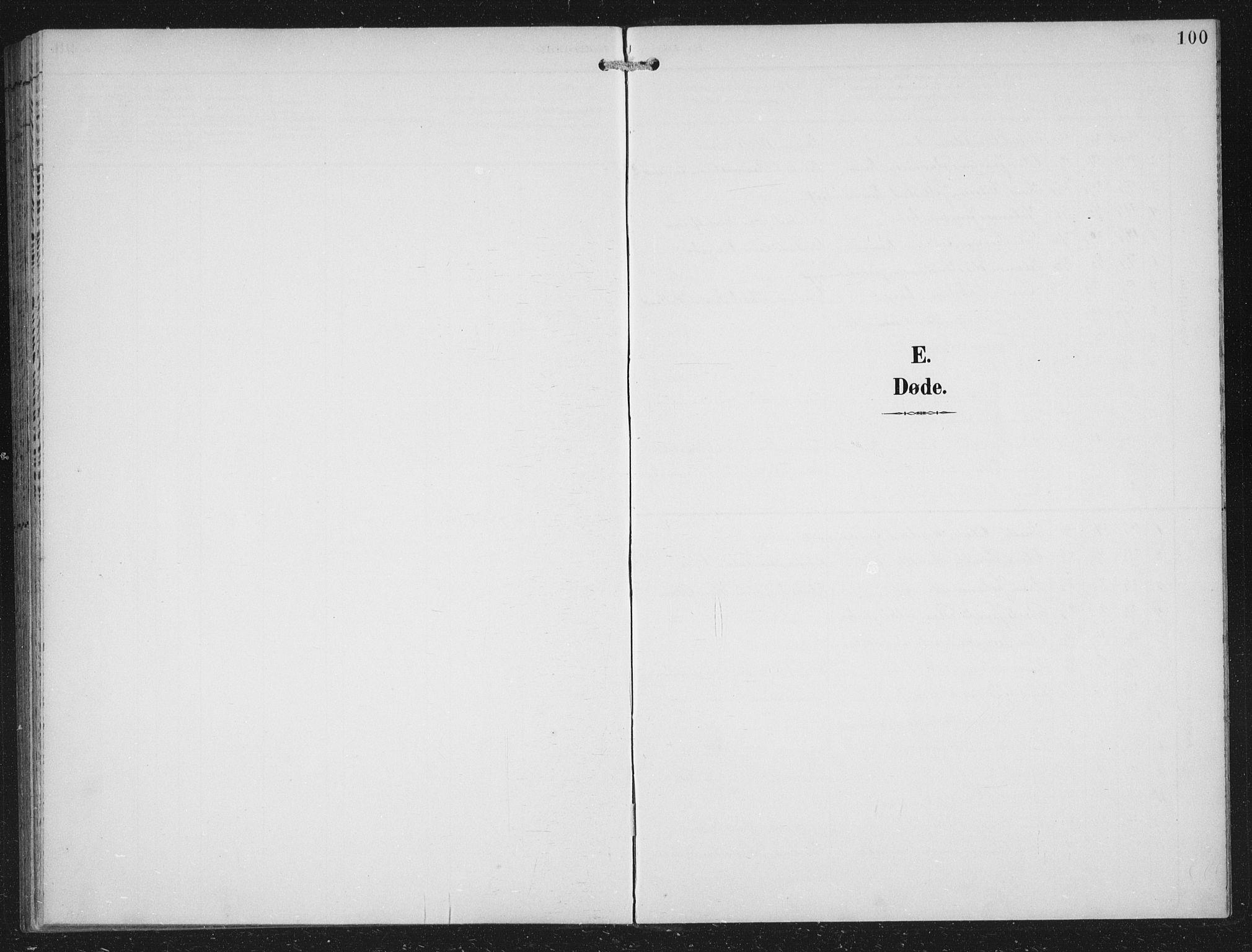 SAB, Fana Sokneprestembete, H/Hab/Haba/L0003: Klokkerbok nr. A 3, 1895-1902, s. 100