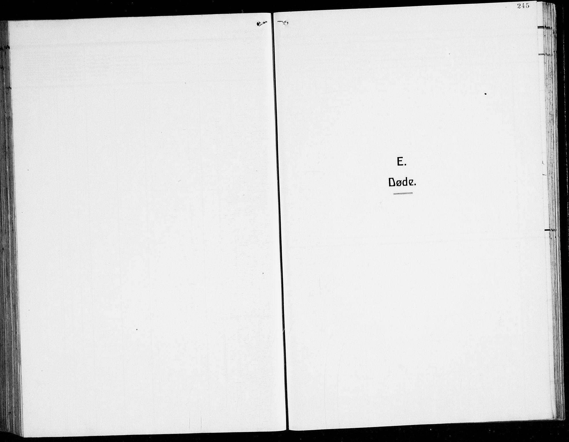 SAB, Herdla Sokneprestembete, H/Hab: Klokkerbok nr. C 3, 1926-1940, s. 245