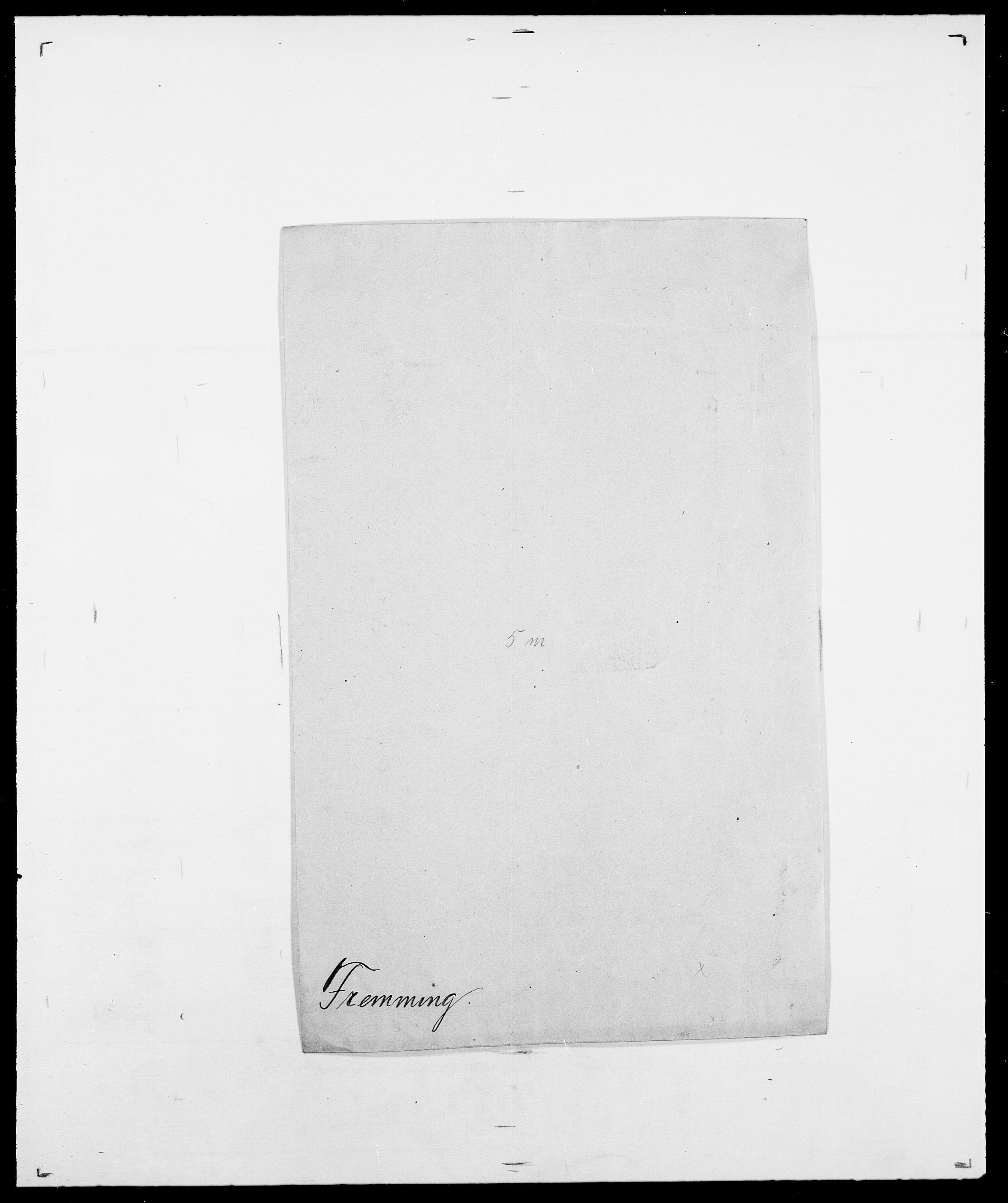 SAO, Delgobe, Charles Antoine - samling, D/Da/L0012: Flor, Floer, Flohr - Fritzner, s. 742