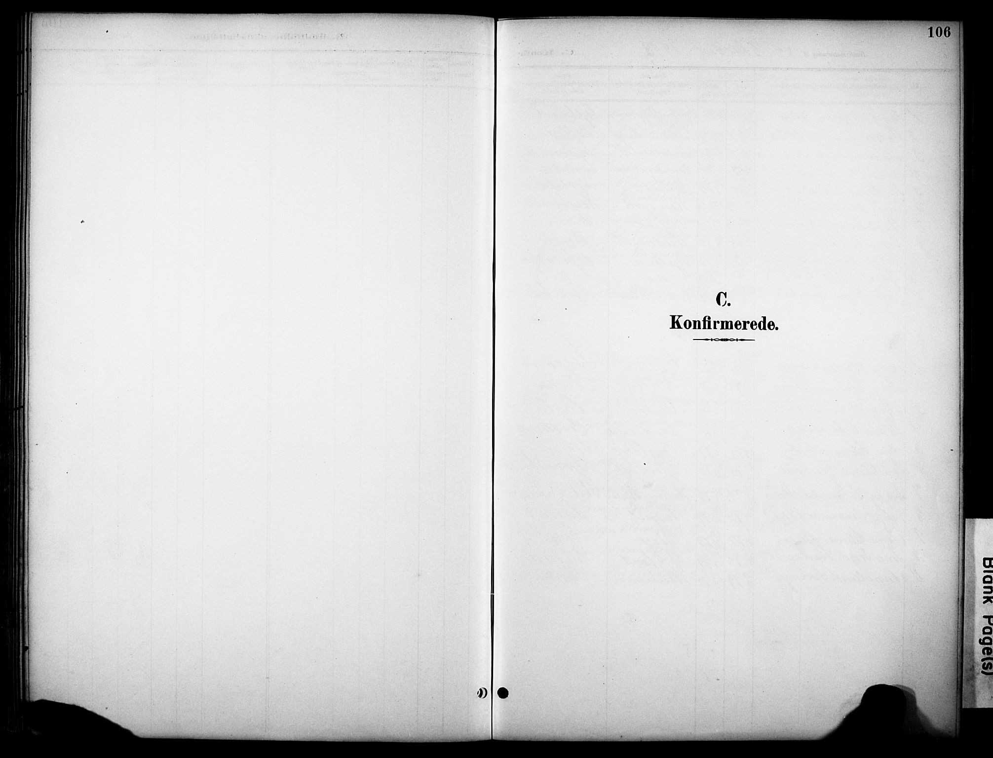 SAKO, Kviteseid kirkebøker, G/Gb/L0003: Klokkerbok nr. II 3, 1893-1933, s. 106