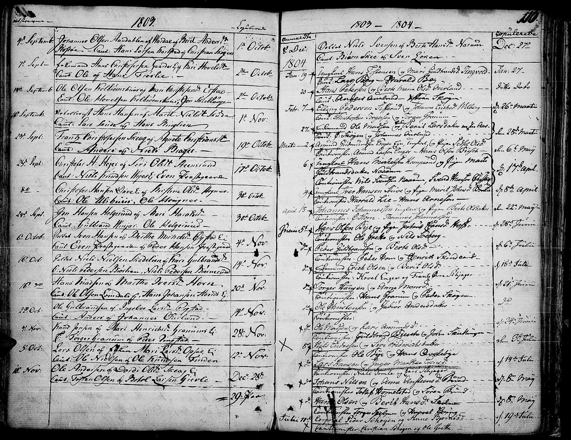 SAH, Land prestekontor, Ministerialbok nr. 6, 1784-1813, s. 116