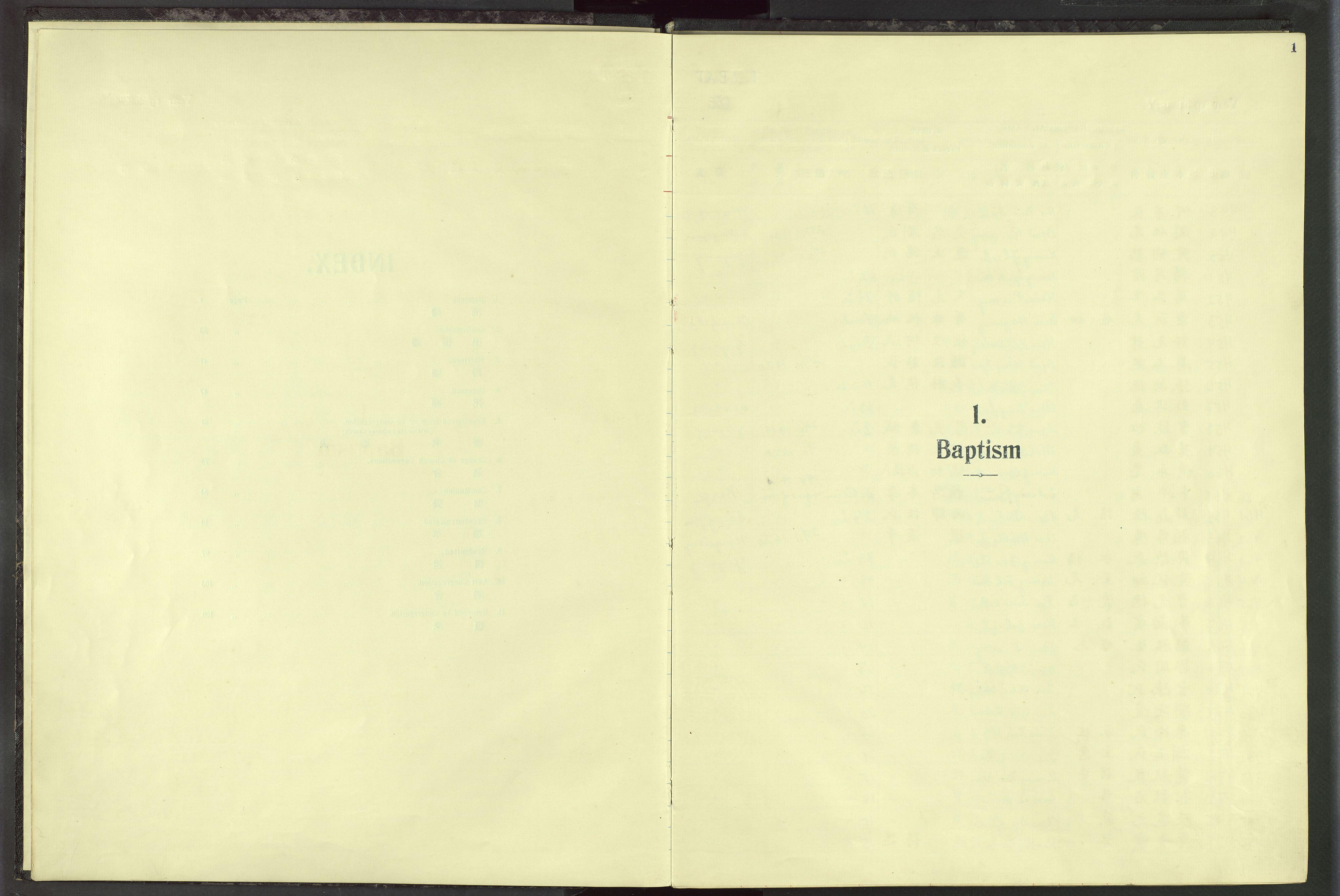 VID, Det Norske Misjonsselskap - utland - Kina (Hunan), Dm/L0019: Ministerialbok nr. 57, 1920-1949, s. 1