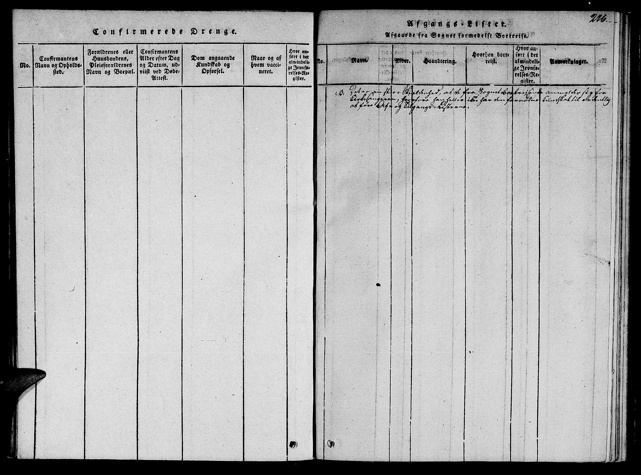SAT, Ministerialprotokoller, klokkerbøker og fødselsregistre - Nord-Trøndelag, 766/L0565: Klokkerbok nr. 767C01, 1817-1823, s. 276