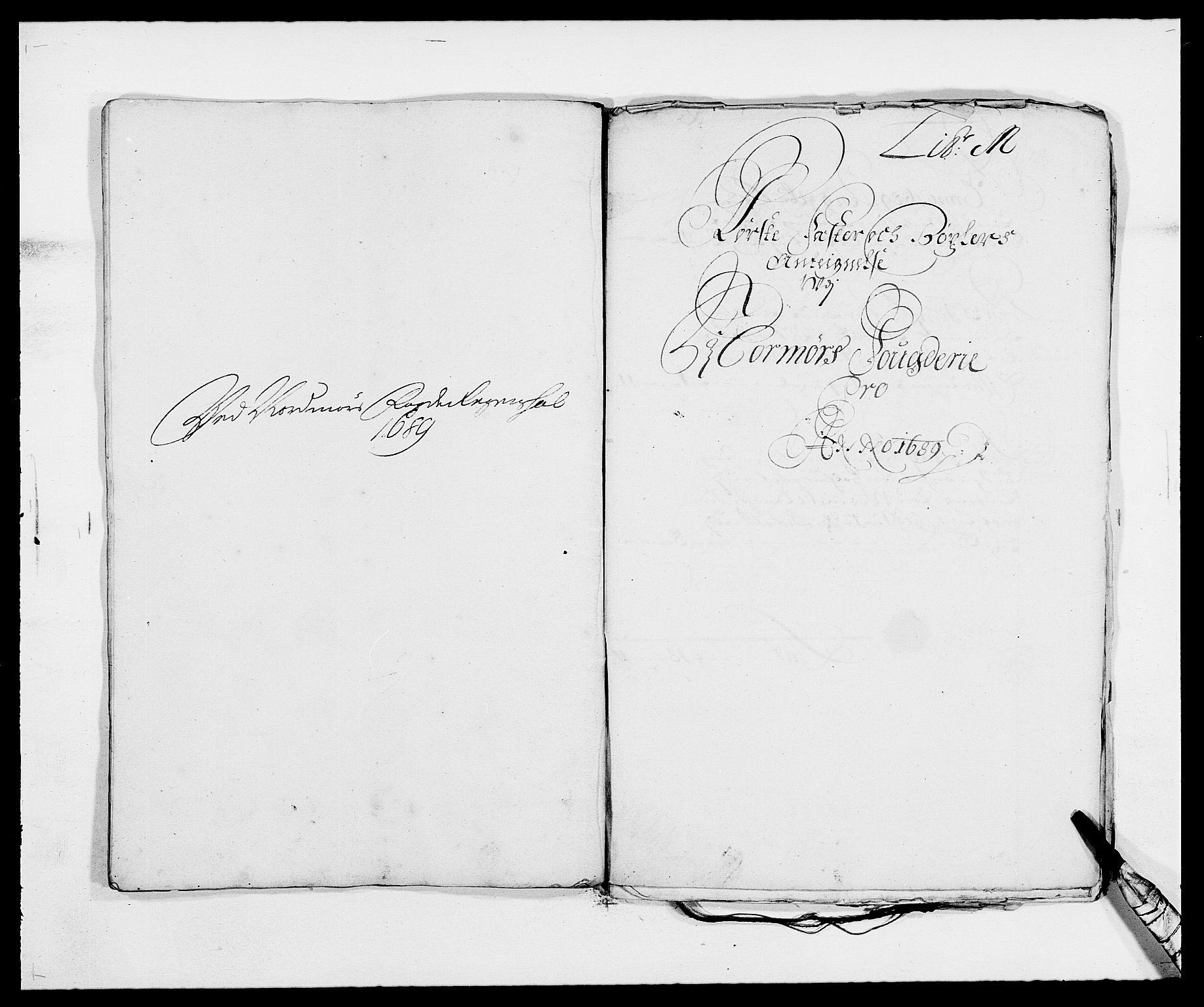 RA, Rentekammeret inntil 1814, Reviderte regnskaper, Fogderegnskap, R56/L3733: Fogderegnskap Nordmøre, 1687-1689, s. 450