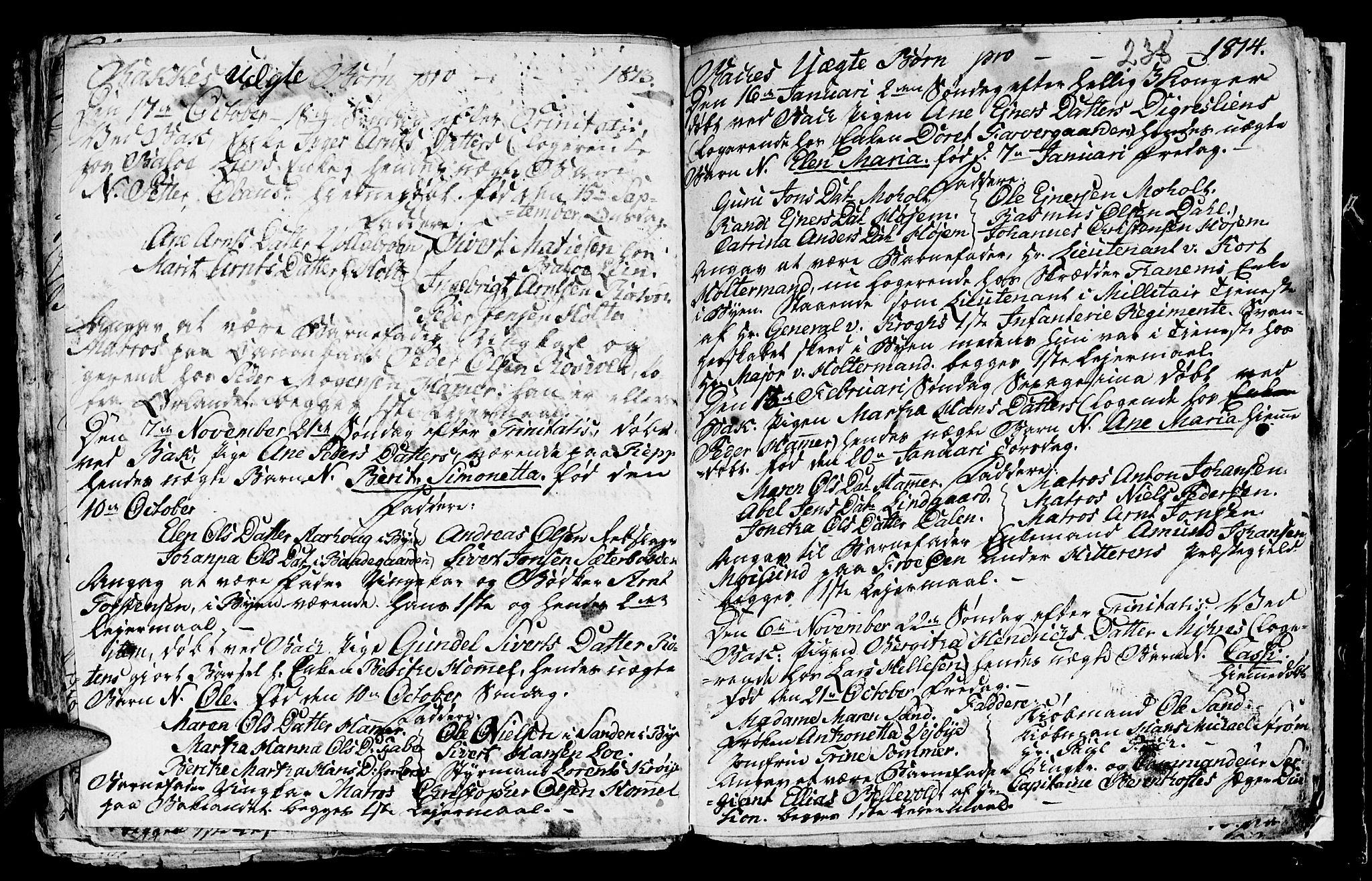 SAT, Ministerialprotokoller, klokkerbøker og fødselsregistre - Sør-Trøndelag, 604/L0218: Klokkerbok nr. 604C01, 1754-1819, s. 238