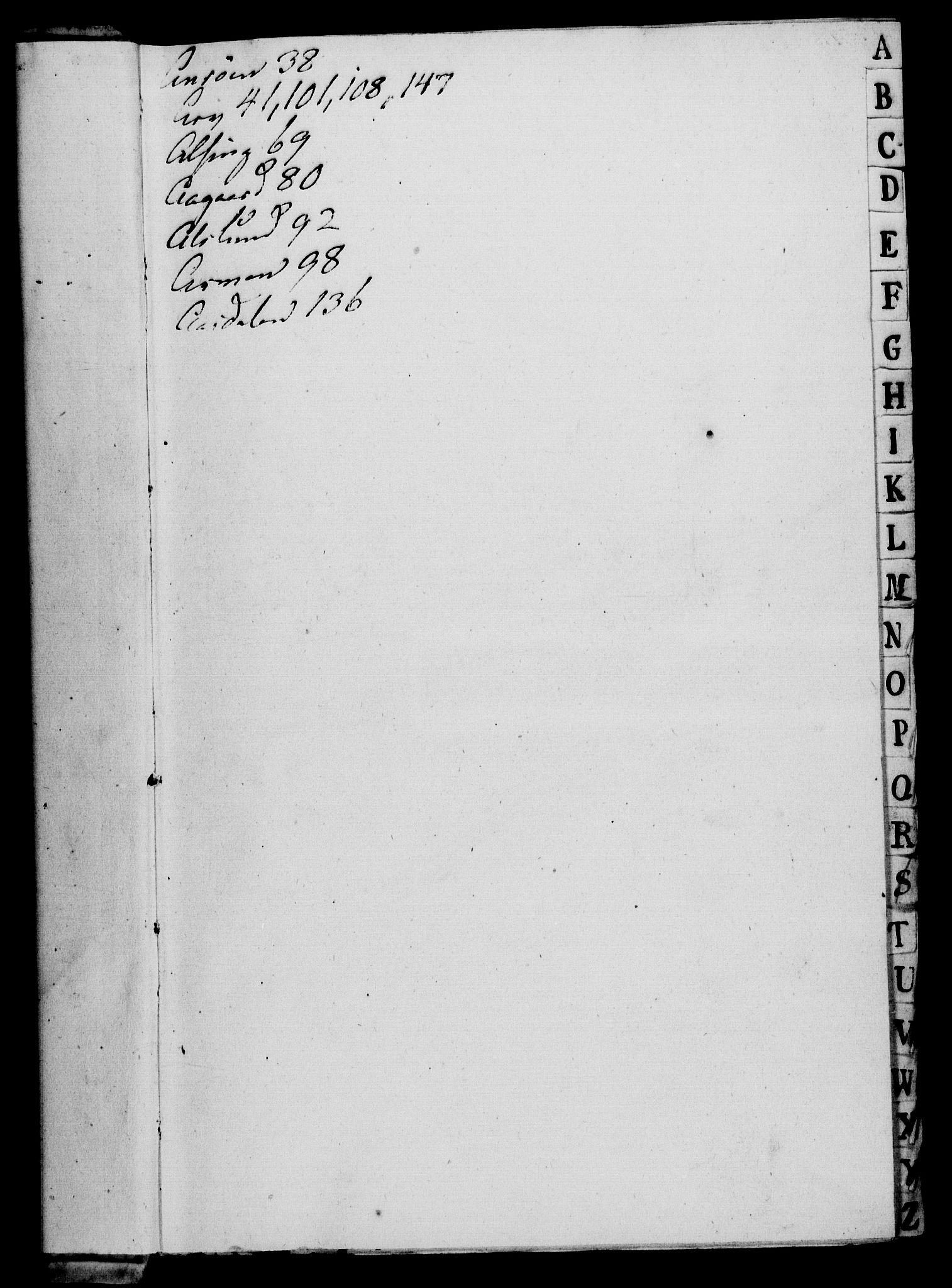 RA, Rentekammeret, Kammerkanselliet, G/Gf/Gfa/L0043: Norsk relasjons- og resolusjonsprotokoll (merket RK 52.43), 1761, s. 3