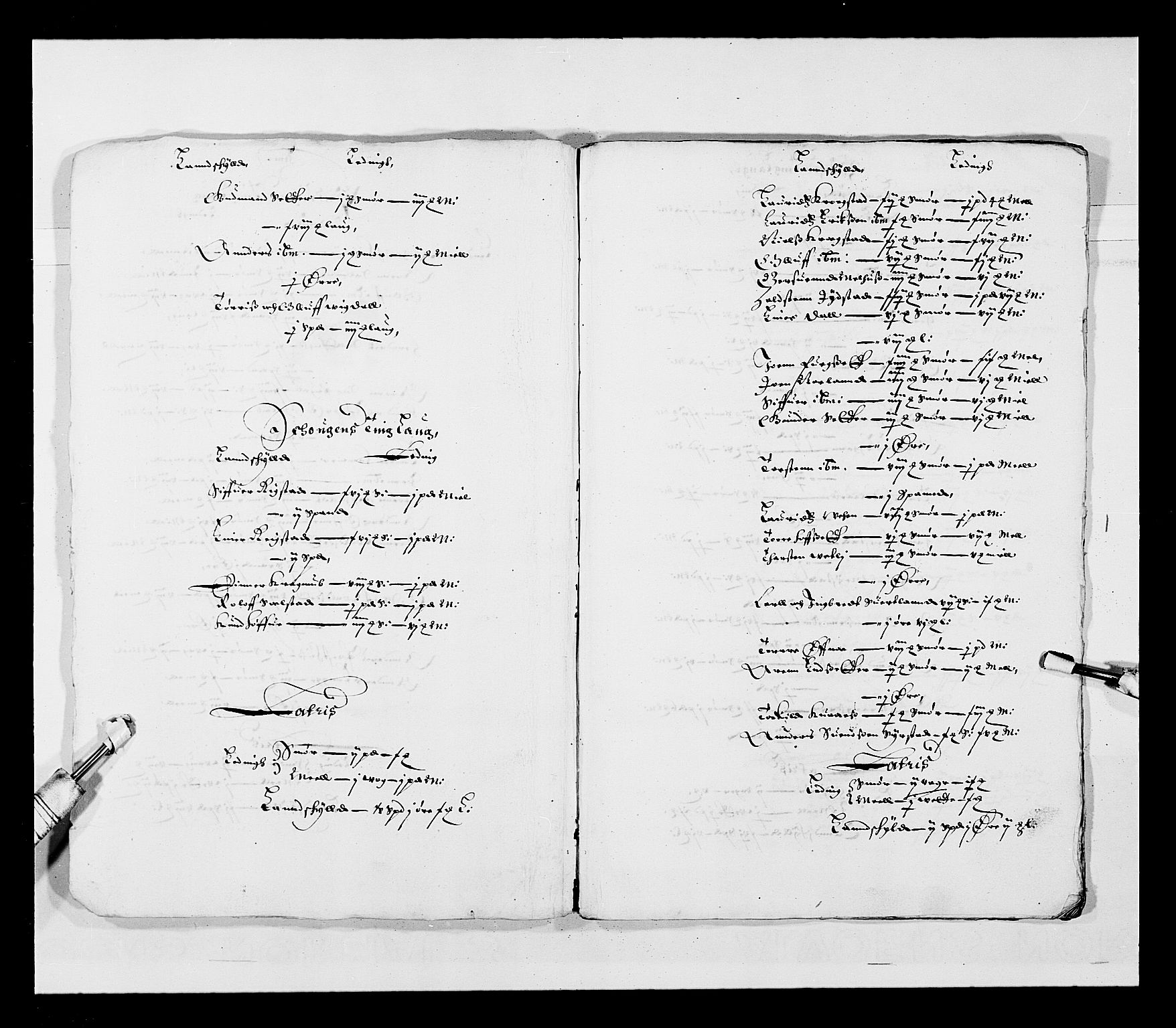 RA, Stattholderembetet 1572-1771, Ek/L0028: Jordebøker 1633-1658:, 1645-1646, s. 166