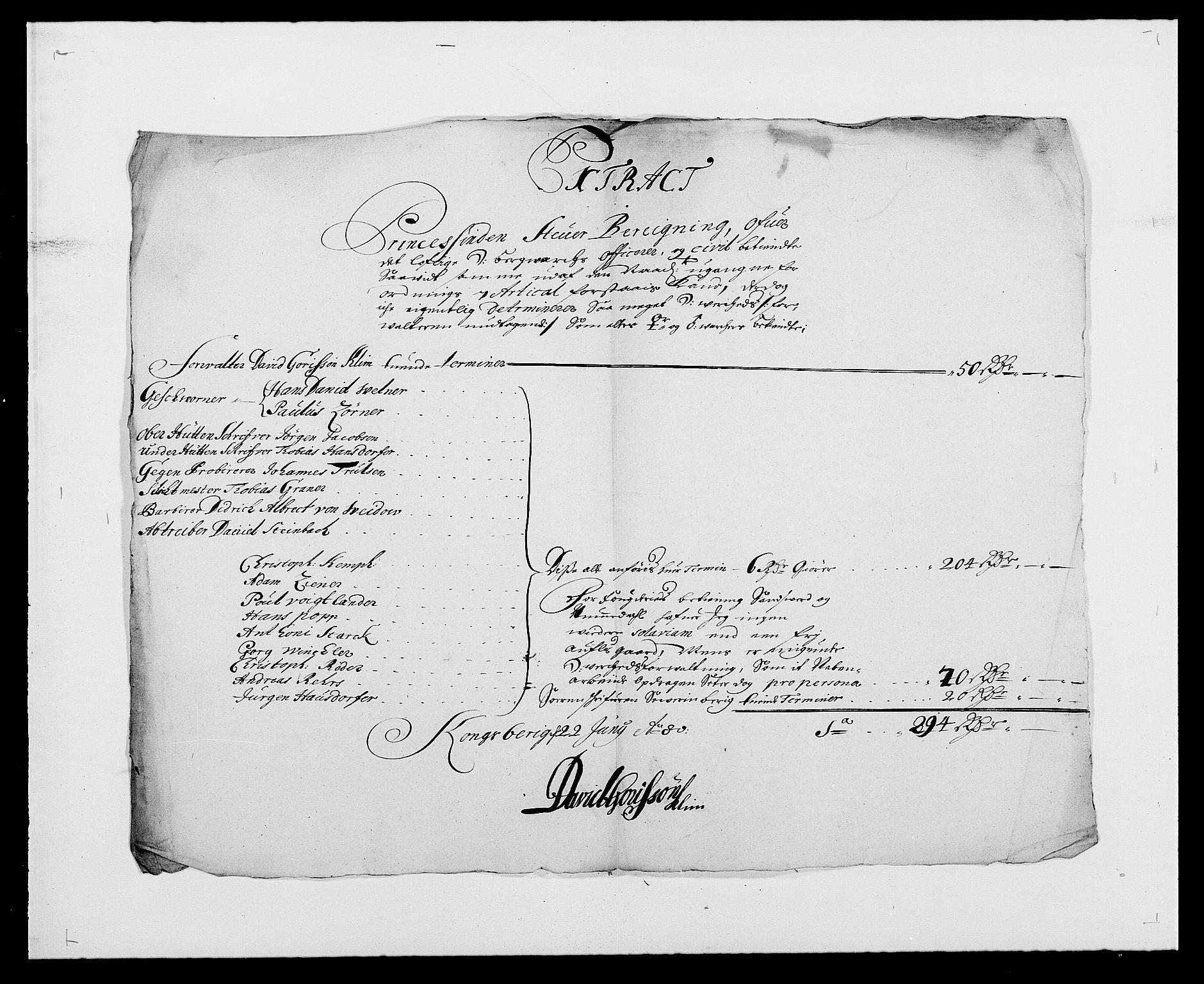 RA, Rentekammeret inntil 1814, Reviderte regnskaper, Fogderegnskap, R24/L1569: Fogderegnskap Numedal og Sandsvær, 1679-1686, s. 224