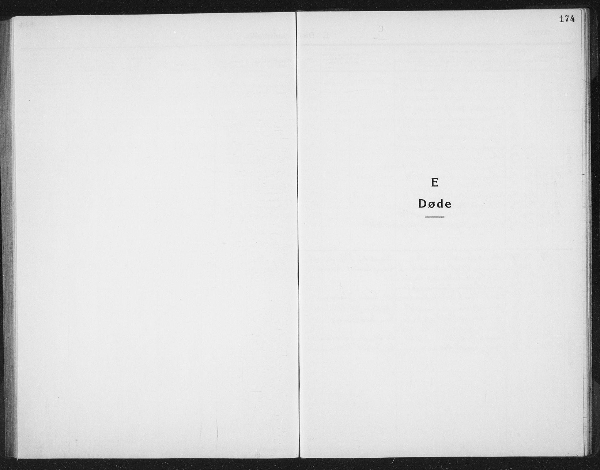 SAT, Ministerialprotokoller, klokkerbøker og fødselsregistre - Sør-Trøndelag, 665/L0778: Klokkerbok nr. 665C03, 1916-1938, s. 174