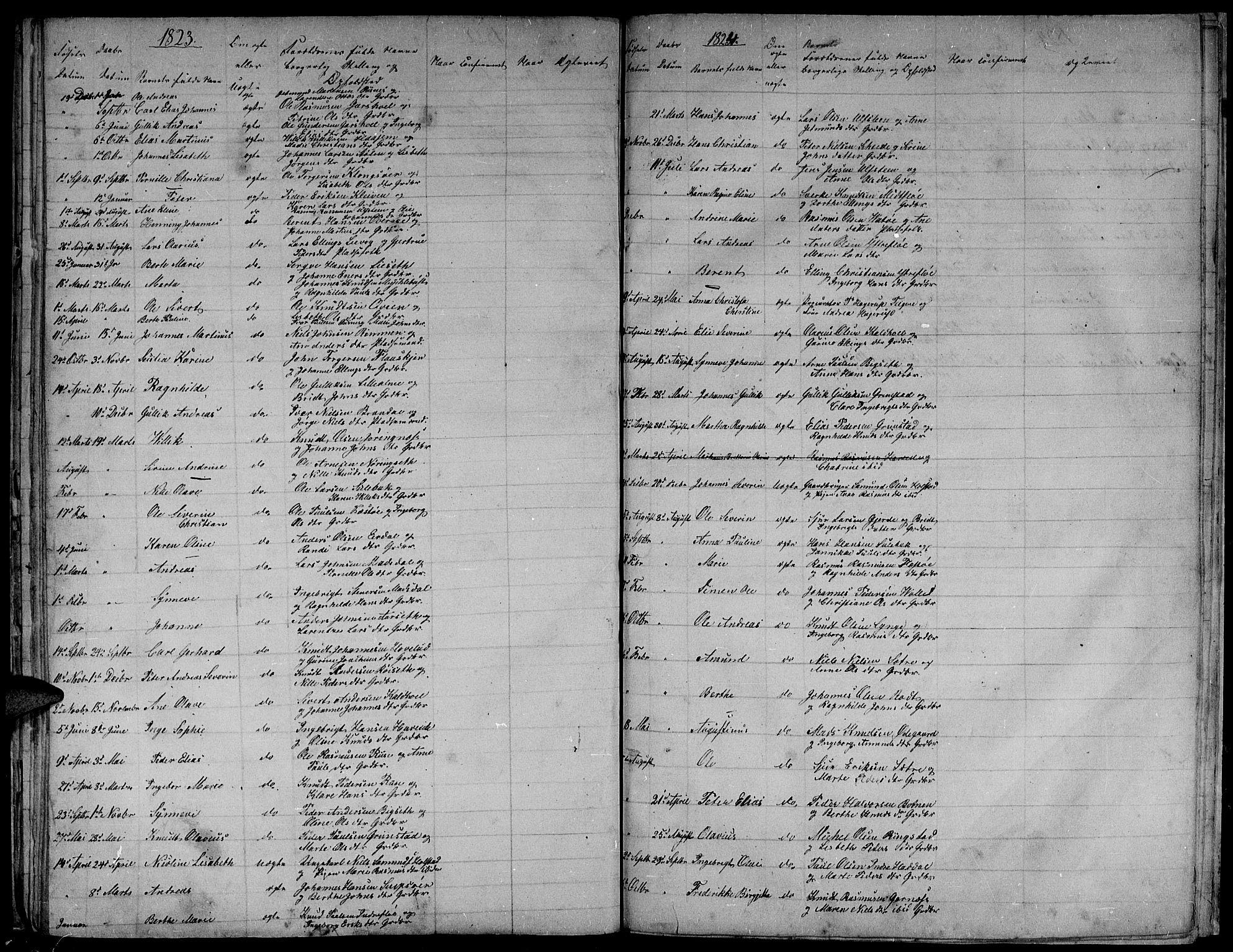 SAT, Ministerialprotokoller, klokkerbøker og fødselsregistre - Møre og Romsdal, 509/L0103: Ministerialbok nr. 509A01, 1754-1832
