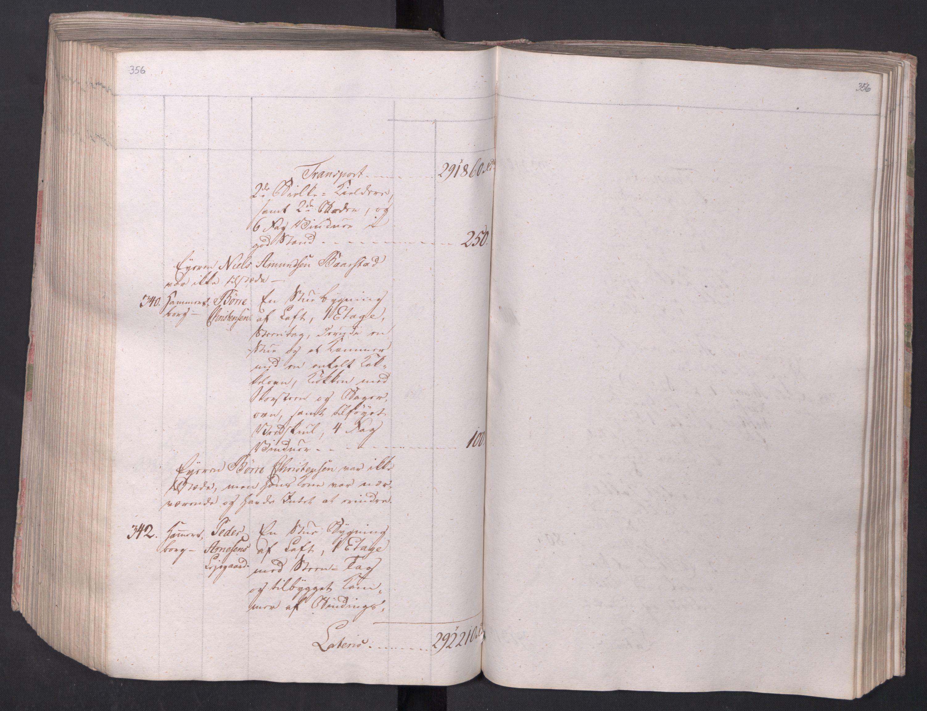 SAO, Kristiania stiftamt, I/Ia/L0015: Branntakster, 1797, s. 356