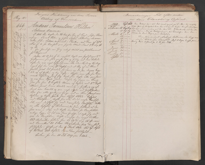 RA, Botsfengslet, D/Db/Dbb/L0006: 614b - 994b, 1858-1860, s. 40