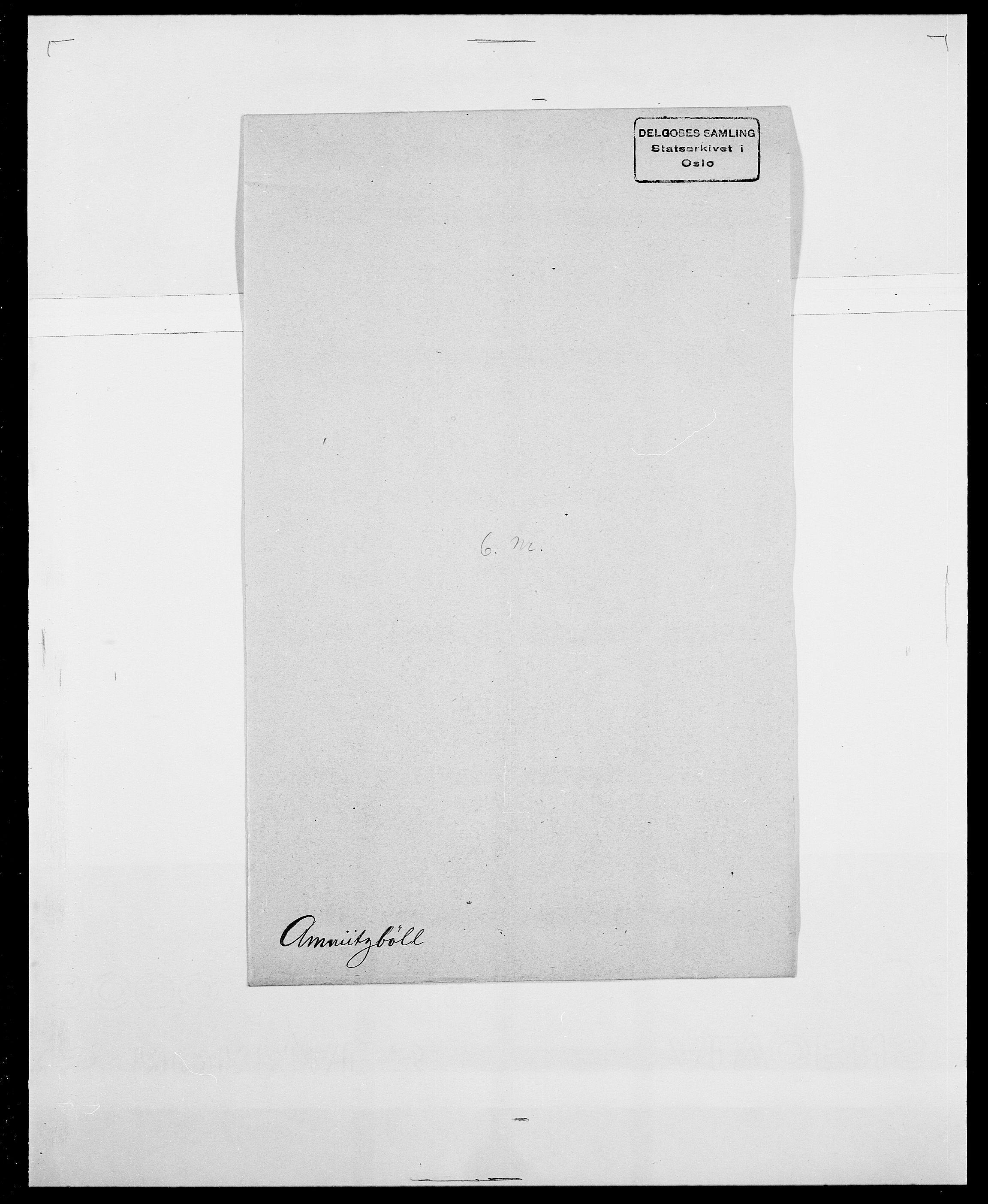 SAO, Delgobe, Charles Antoine - samling, D/Da/L0001: Aabye - Angerman, s. 549