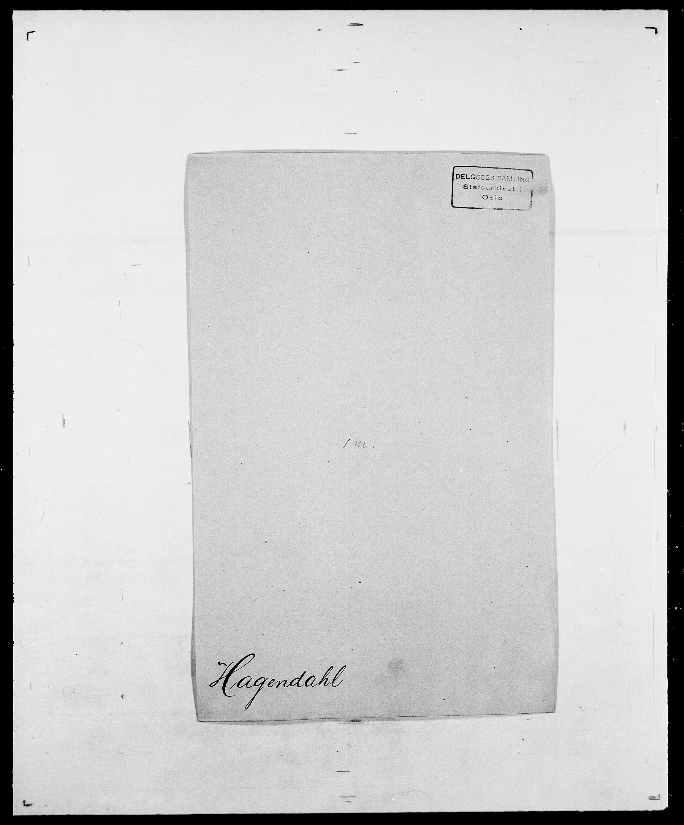 SAO, Delgobe, Charles Antoine - samling, D/Da/L0015: Grodtshilling - Halvorsæth, s. 711