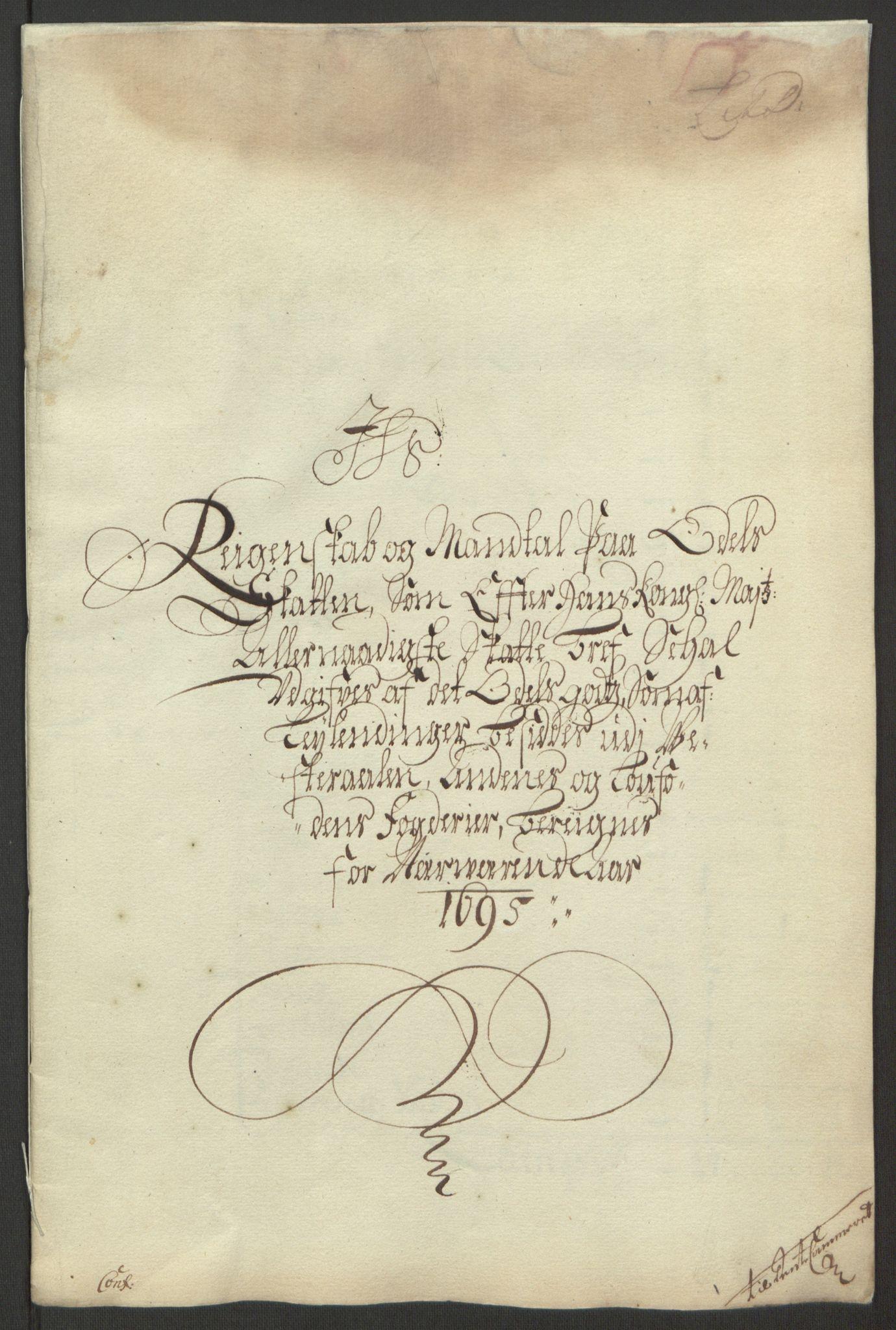 RA, Rentekammeret inntil 1814, Reviderte regnskaper, Fogderegnskap, R67/L4677: Fogderegnskap Vesterålen, Andenes og Lofoten, 1694-1695, s. 231
