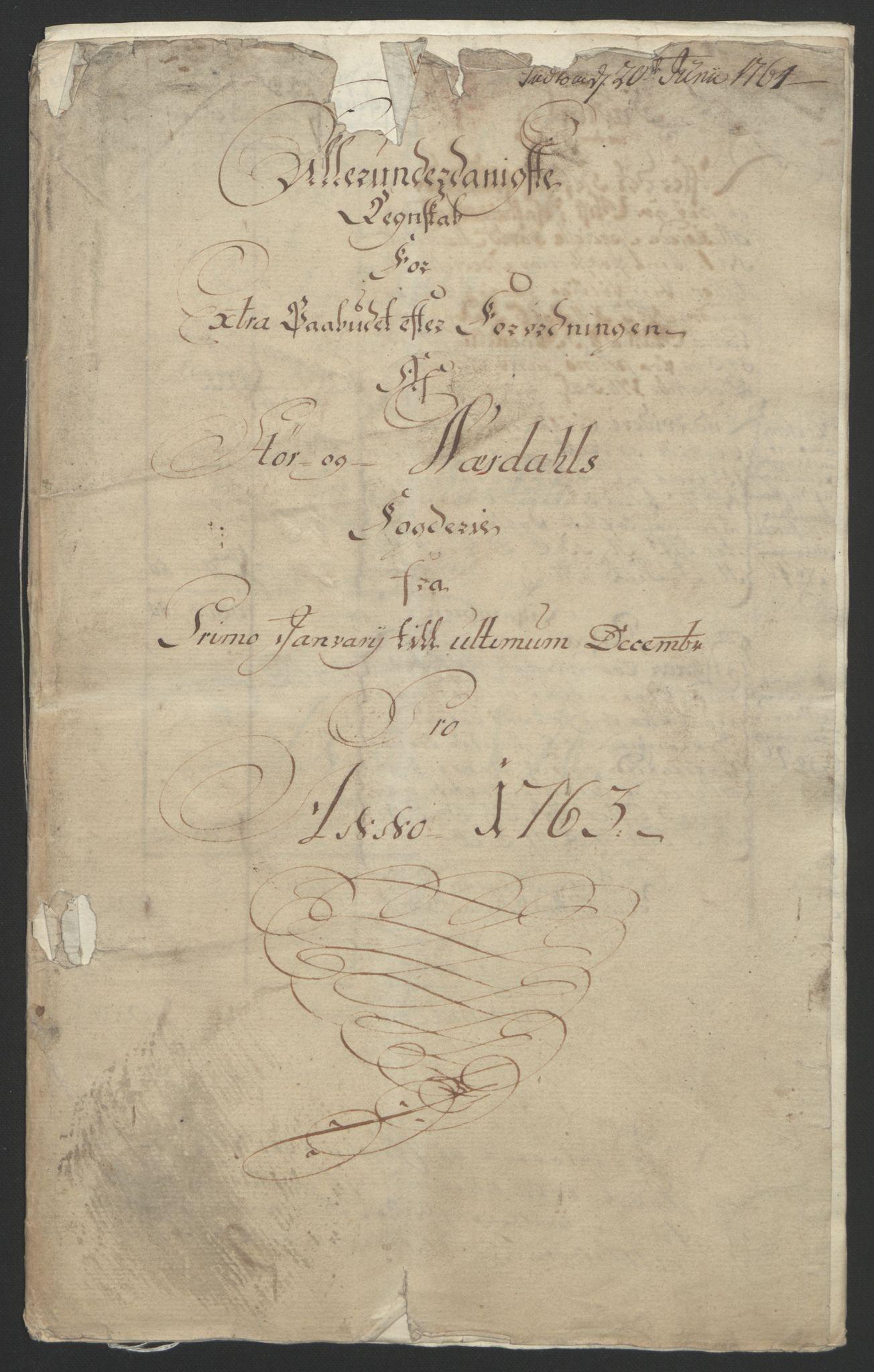 RA, Rentekammeret inntil 1814, Reviderte regnskaper, Fogderegnskap, R62/L4303: Ekstraskatten Stjørdal og Verdal, 1762-1763, s. 47
