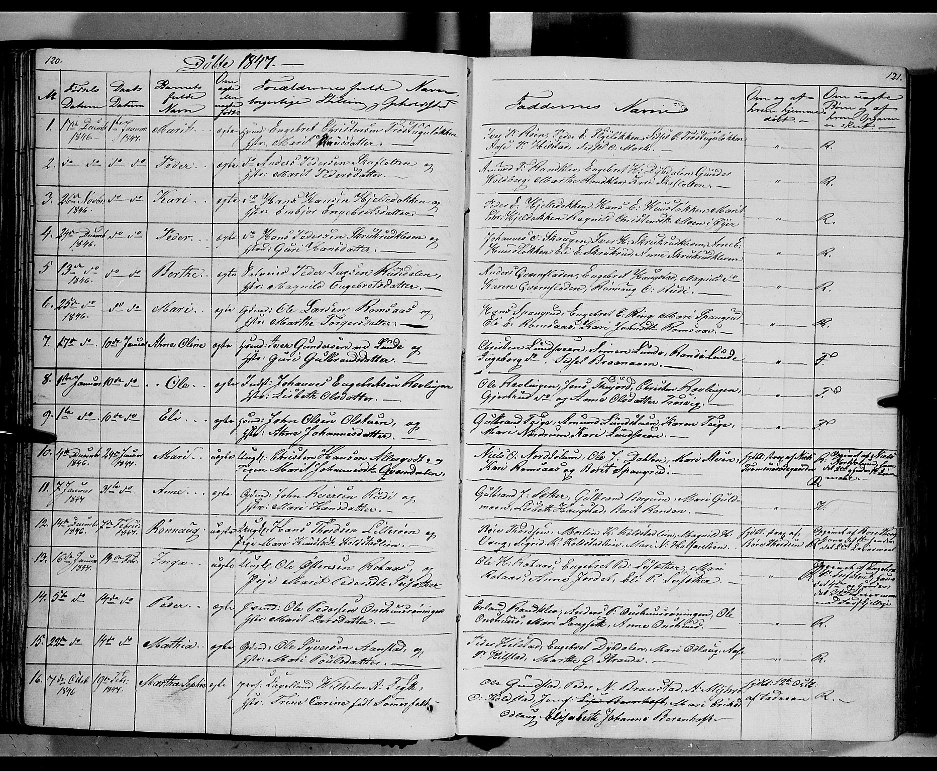 SAH, Ringebu prestekontor, Ministerialbok nr. 5, 1839-1848, s. 120-121