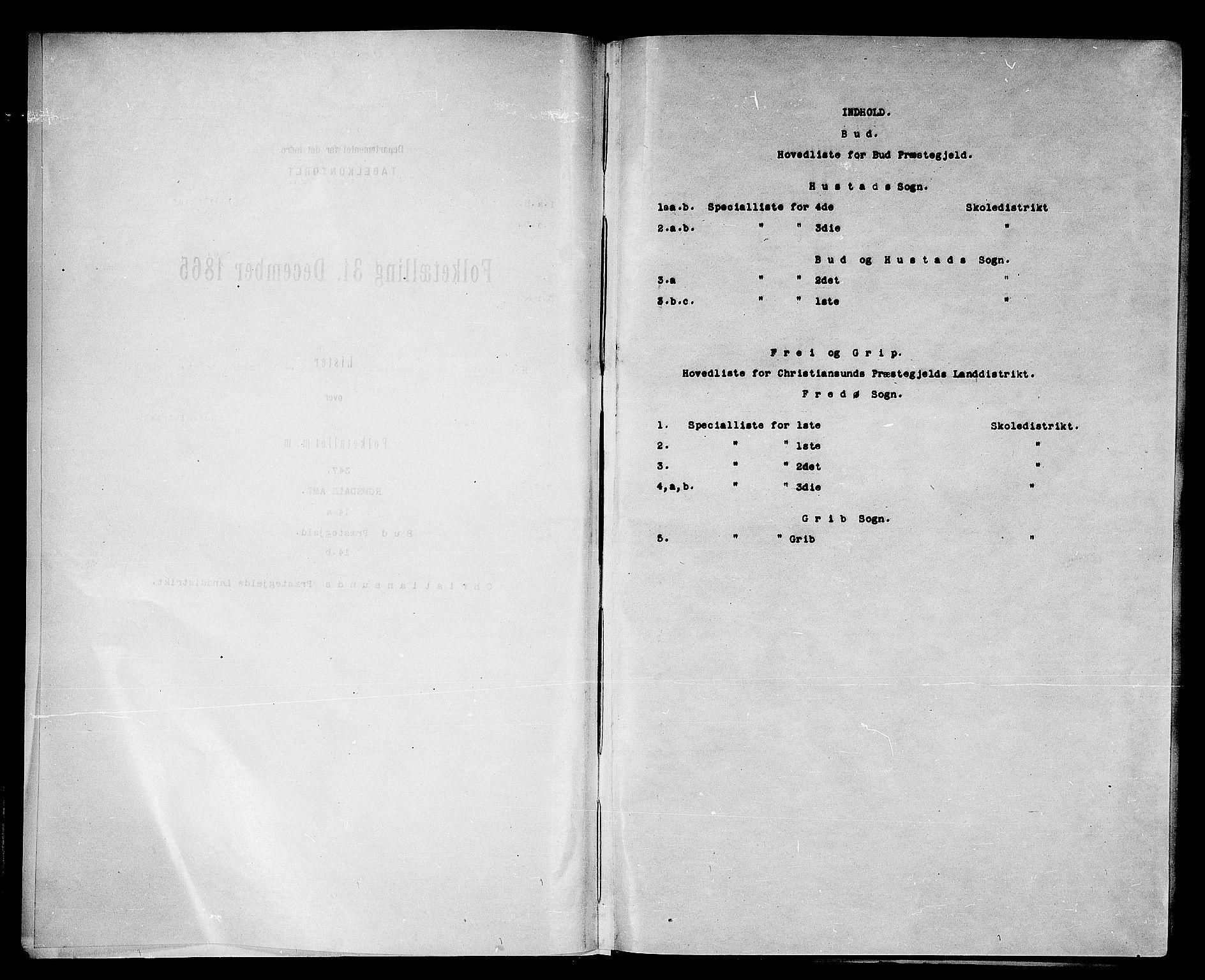 RA, Folketelling 1865 for 1549P Bud prestegjeld, 1865, s. 4