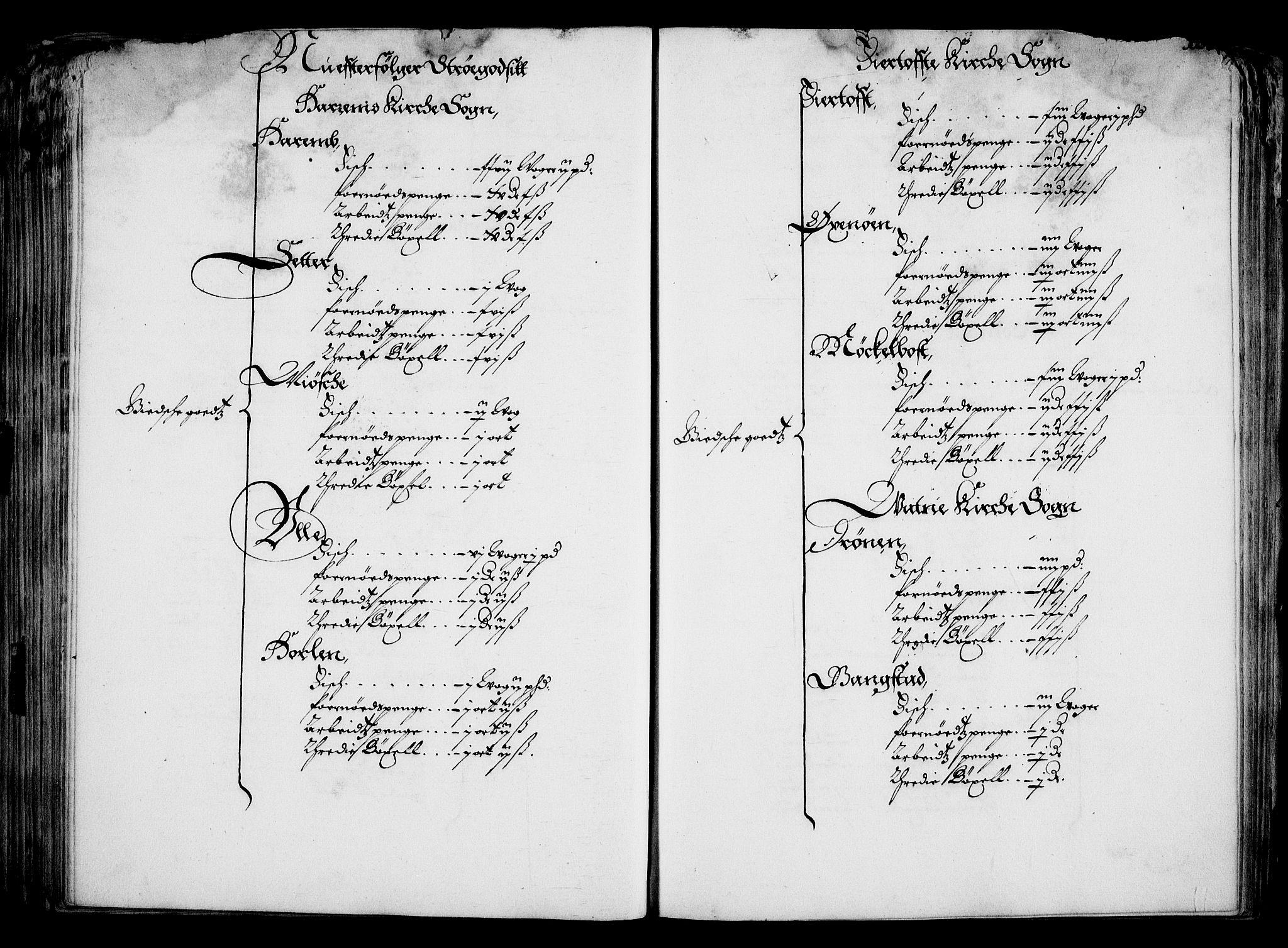 RA, Rentekammeret inntil 1814, Realistisk ordnet avdeling, On/L0001: Statens gods, 1651, s. 173