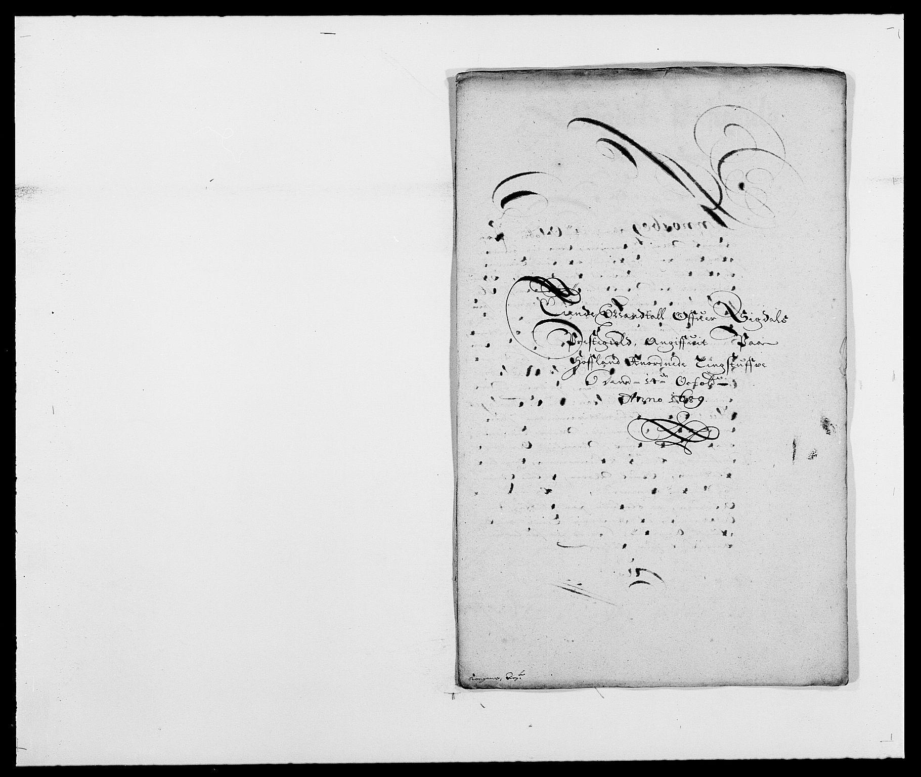 RA, Rentekammeret inntil 1814, Reviderte regnskaper, Fogderegnskap, R25/L1680: Fogderegnskap Buskerud, 1689-1690, s. 39