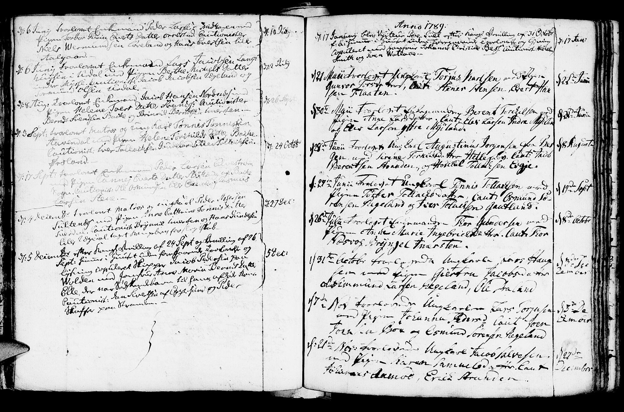 SAST, Sokndal sokneprestkontor, Ministerialbok nr. A 4, 1762-1811