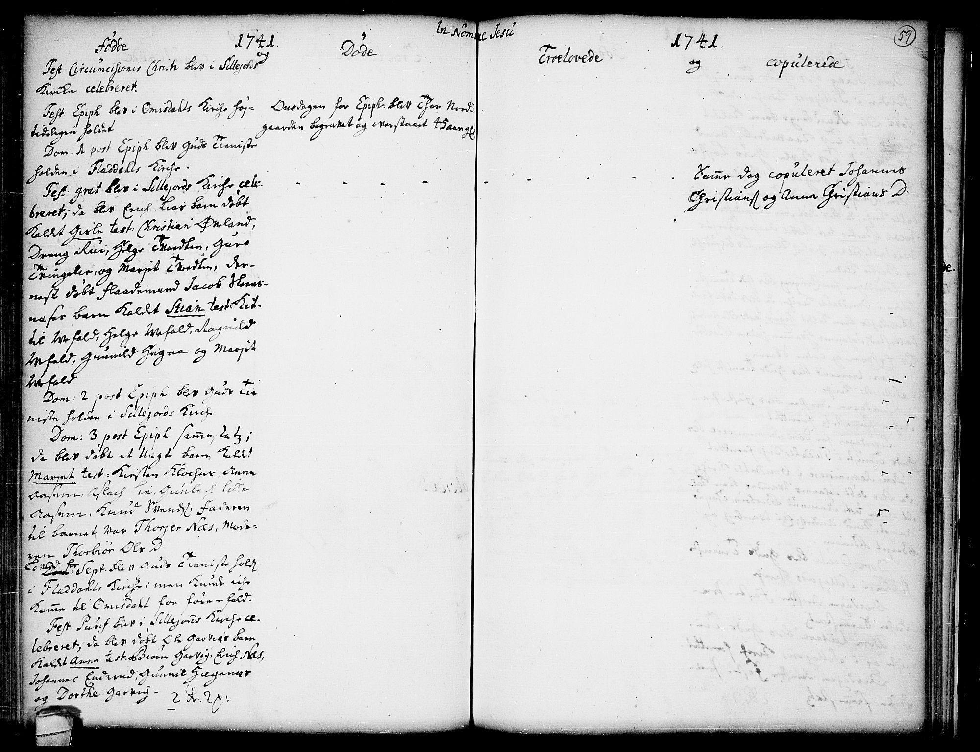 SAKO, Seljord kirkebøker, F/Fa/L0005: Ministerialbok nr. I 5, 1737-1743, s. 59