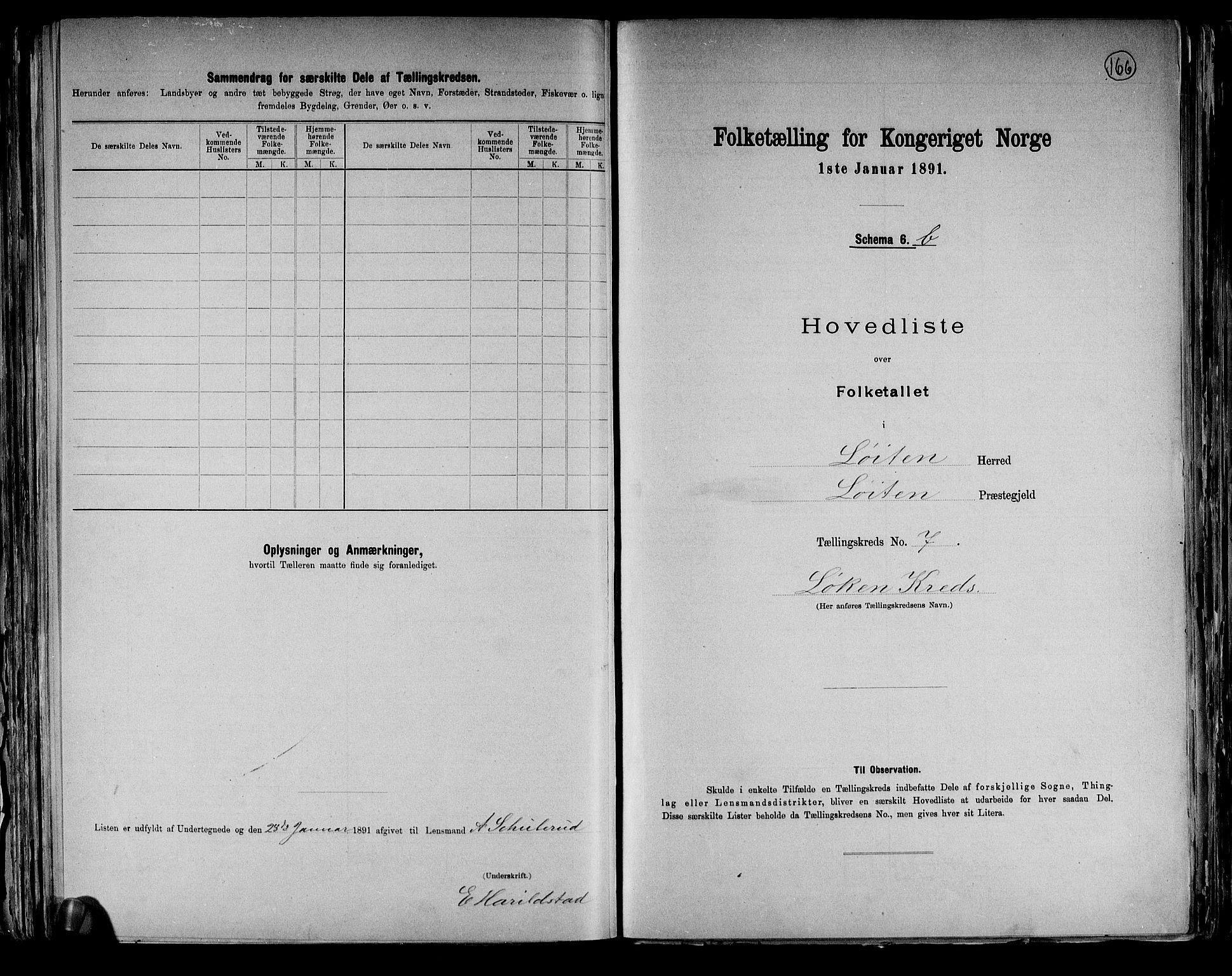 RA, Folketelling 1891 for 0415 Løten herred, 1891, s. 31