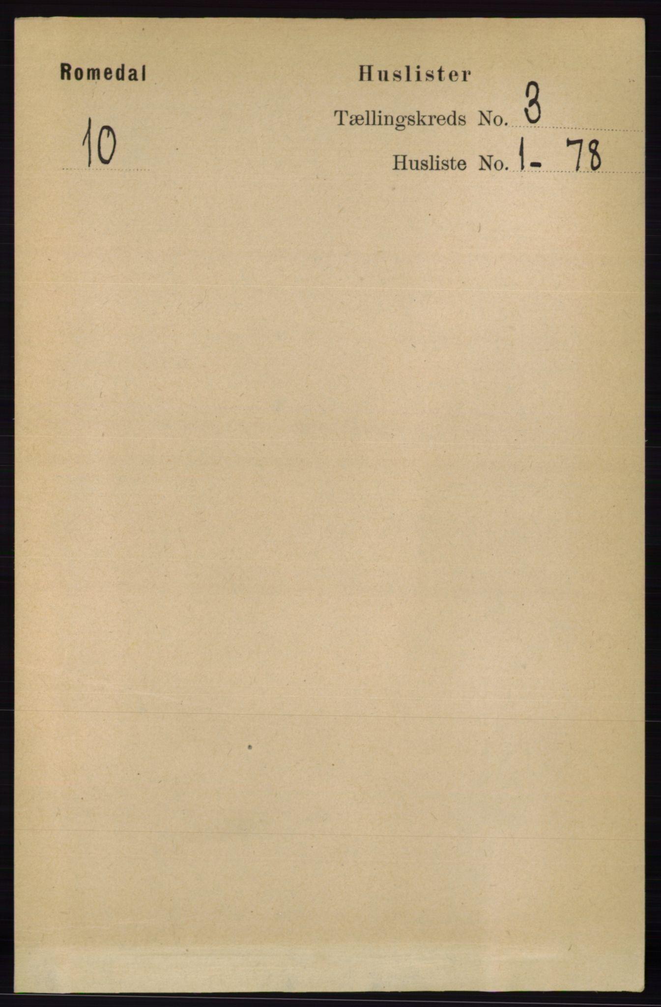 RA, Folketelling 1891 for 0416 Romedal herred, 1891, s. 1337
