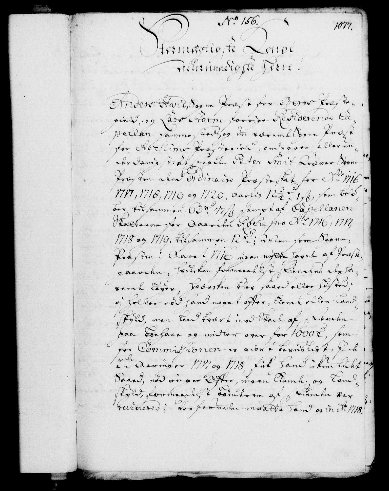 RA, Rentekammeret, Kammerkanselliet, G/Gf/Gfa/L0003: Norsk relasjons- og resolusjonsprotokoll (merket RK 52.3), 1720, s. 54