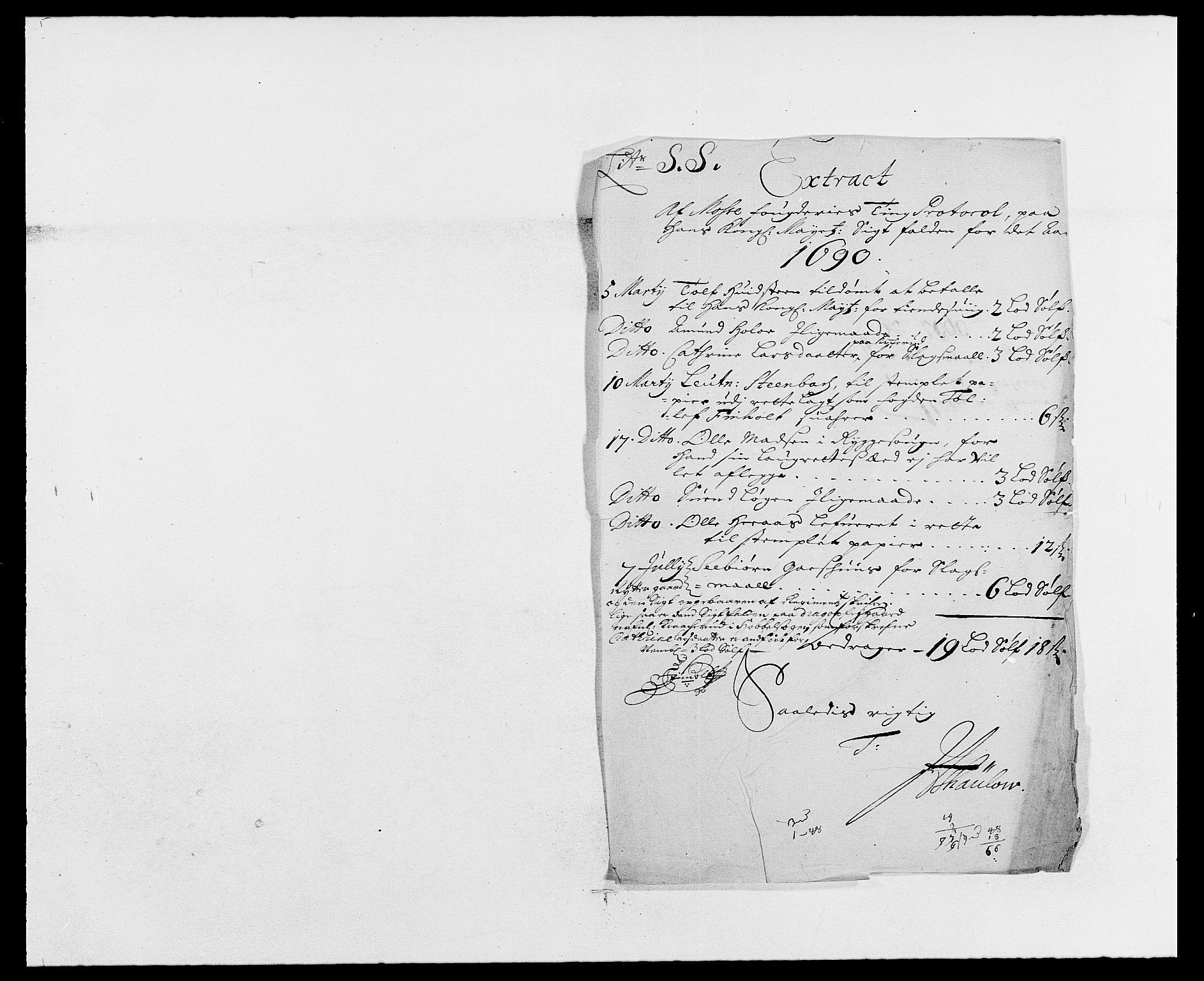 RA, Rentekammeret inntil 1814, Reviderte regnskaper, Fogderegnskap, R02/L0106: Fogderegnskap Moss og Verne kloster, 1688-1691, s. 334