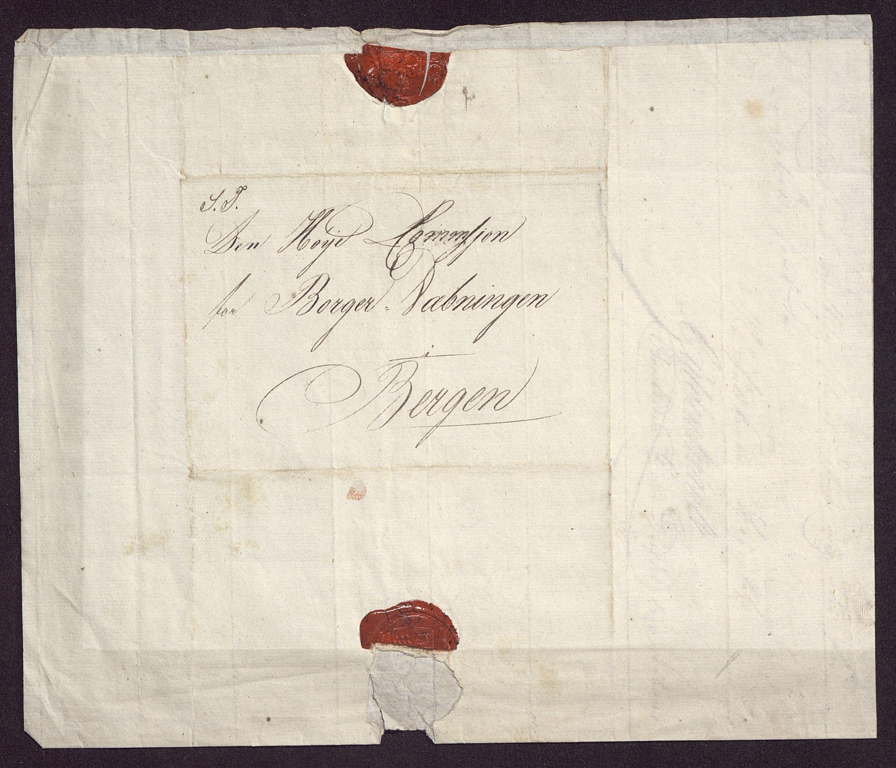 BBA, Borgervæpningen i Bergen, G/Gf/L0002: Vedlegg, 1814