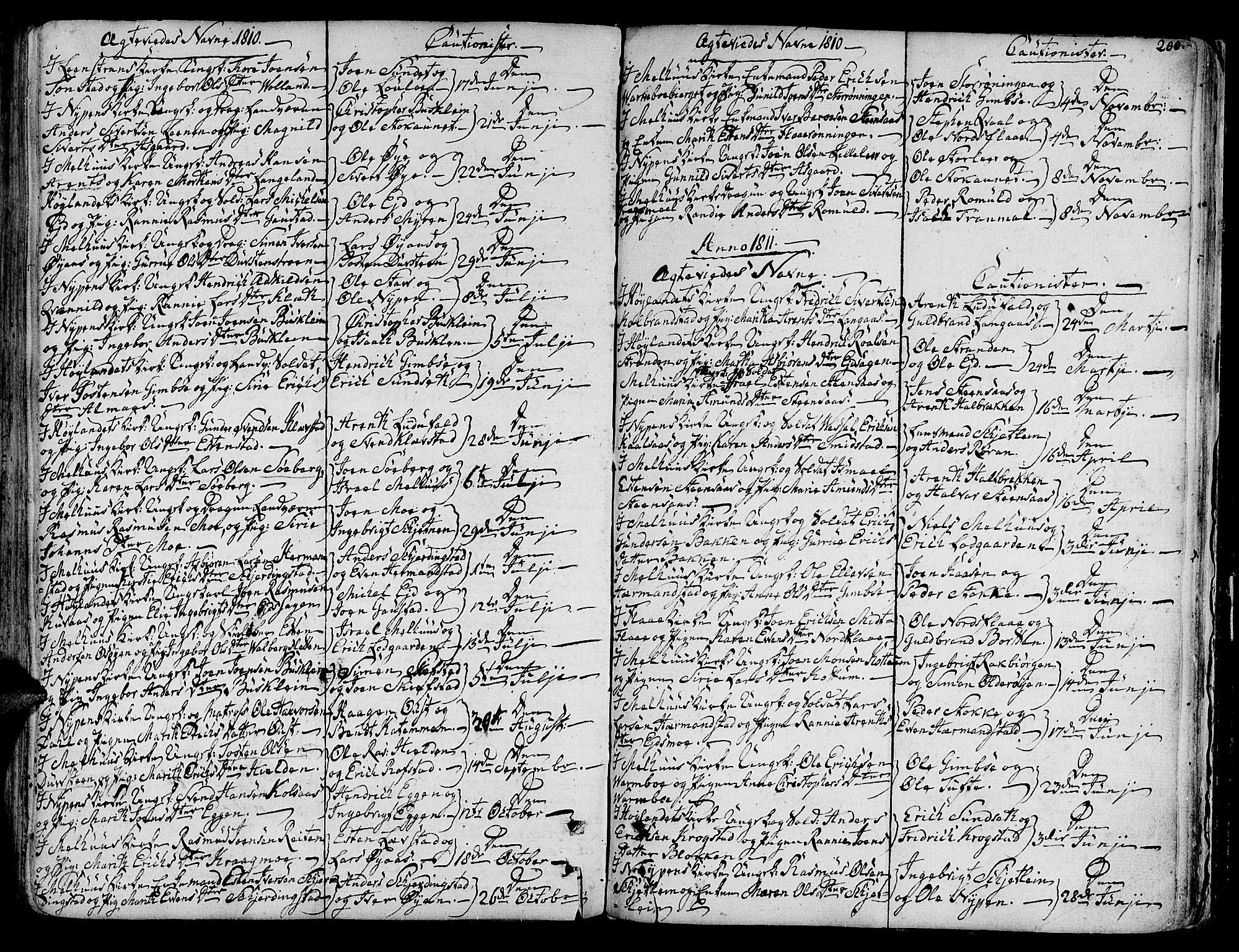 SAT, Ministerialprotokoller, klokkerbøker og fødselsregistre - Sør-Trøndelag, 691/L1061: Ministerialbok nr. 691A02 /1, 1768-1815, s. 200