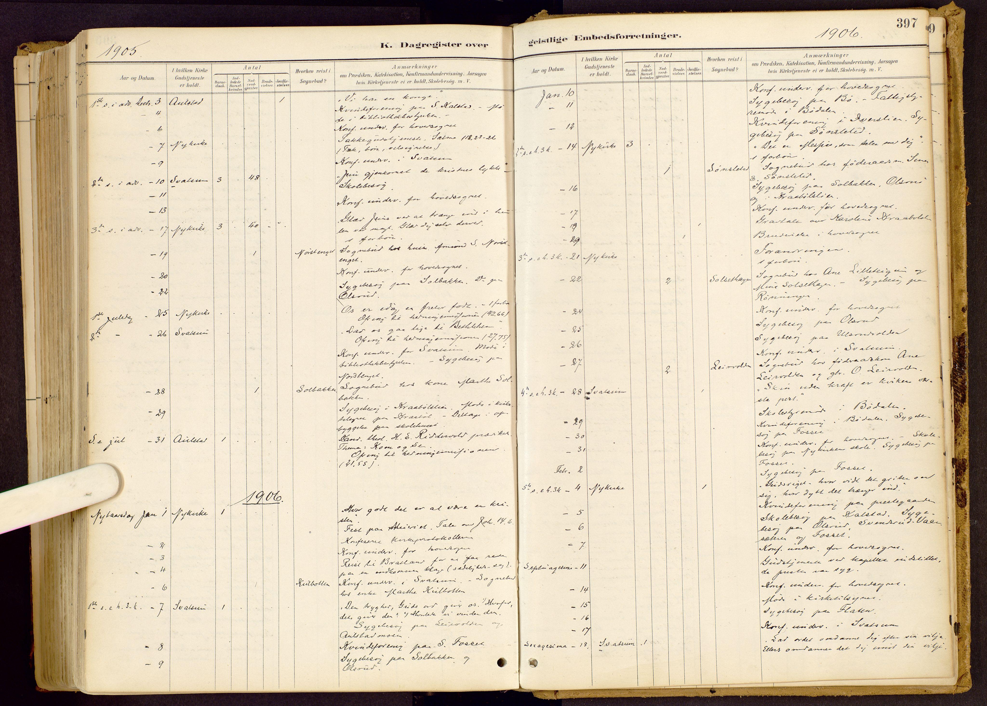SAH, Vestre Gausdal prestekontor, Ministerialbok nr. 1, 1887-1914, s. 397