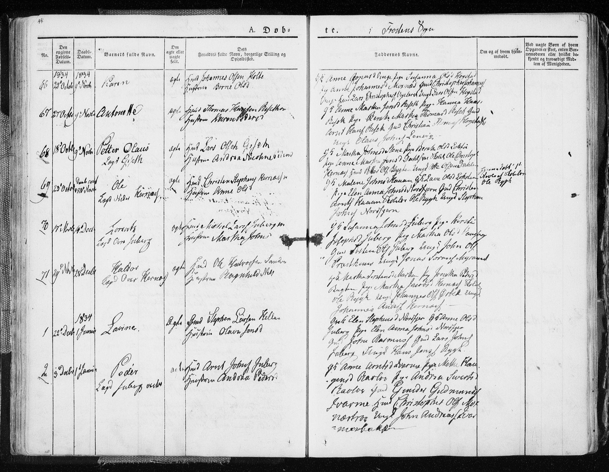 SAT, Ministerialprotokoller, klokkerbøker og fødselsregistre - Nord-Trøndelag, 713/L0114: Ministerialbok nr. 713A05, 1827-1839, s. 48