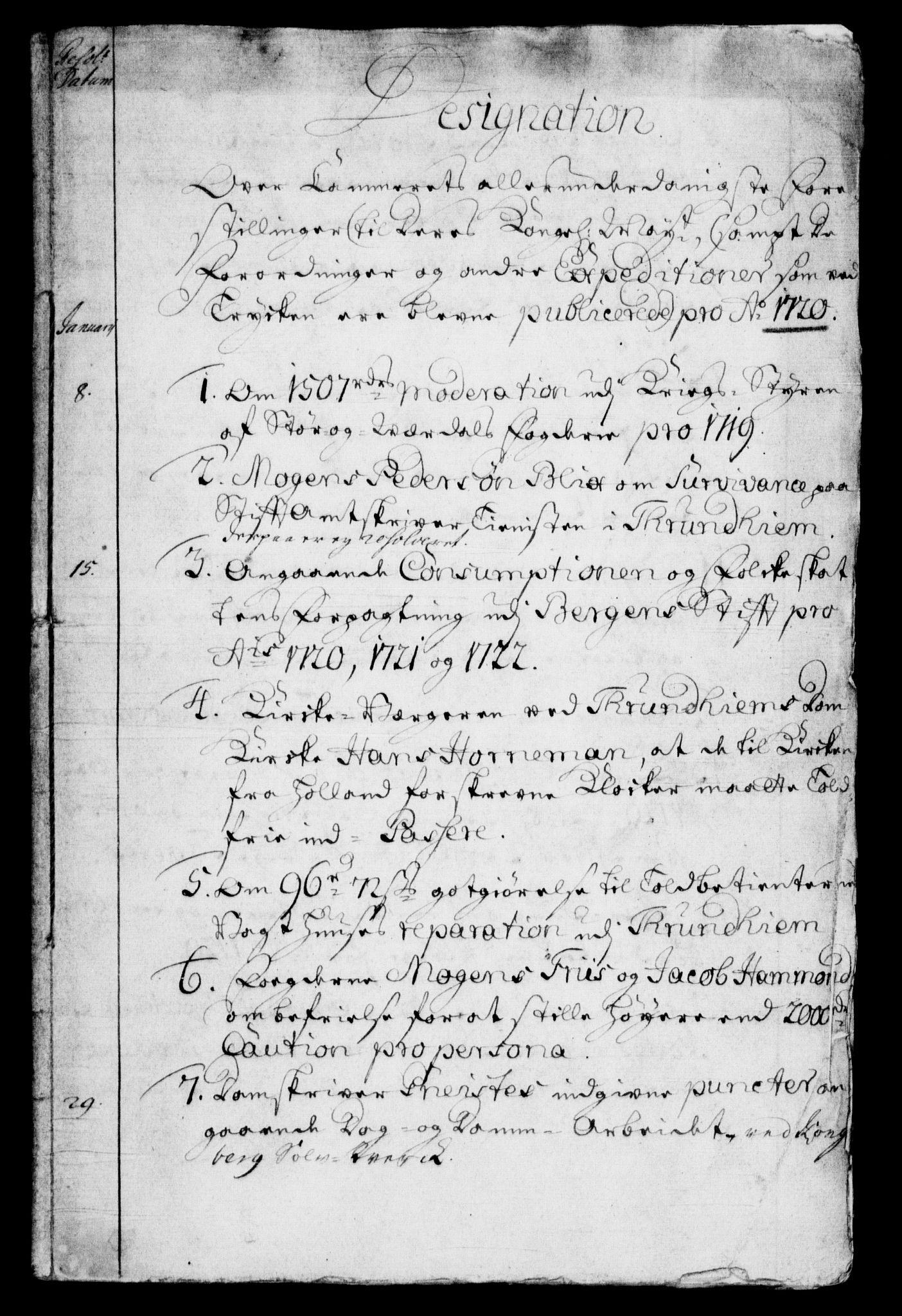 RA, Rentekammeret, Kammerkanselliet, G/Gf/Gfb/L0001: Register til norske relasjons- og resolusjonsprotokoller (merket RK 52.96), 1720-1749, s. 132