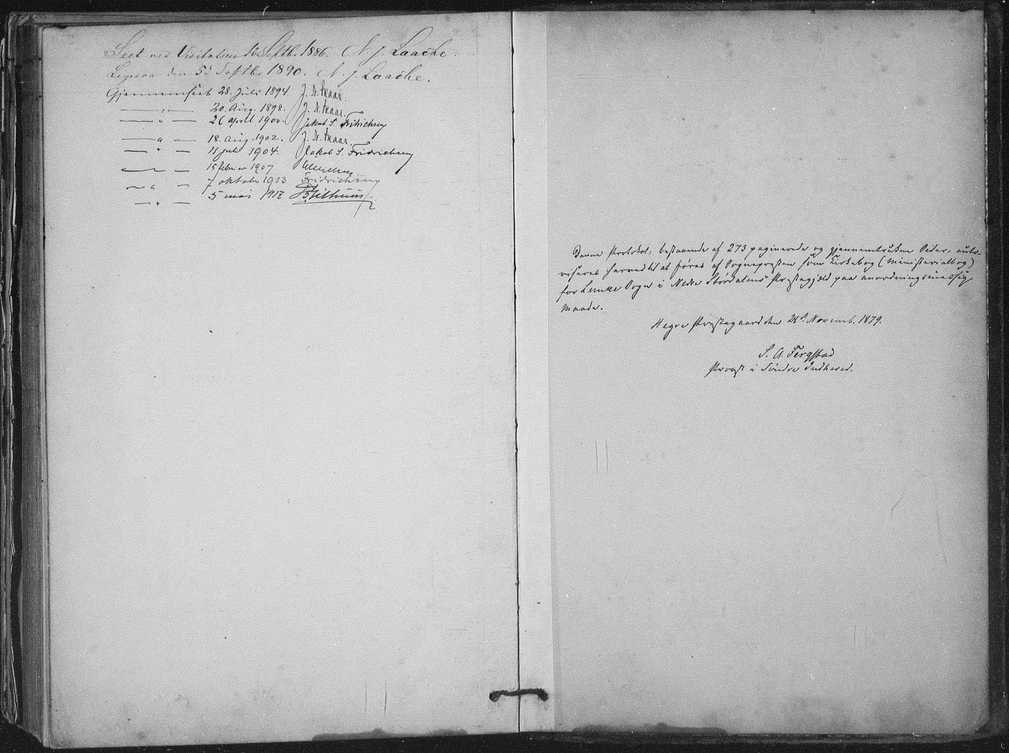 SAT, Ministerialprotokoller, klokkerbøker og fødselsregistre - Nord-Trøndelag, 710/L0095: Ministerialbok nr. 710A01, 1880-1914