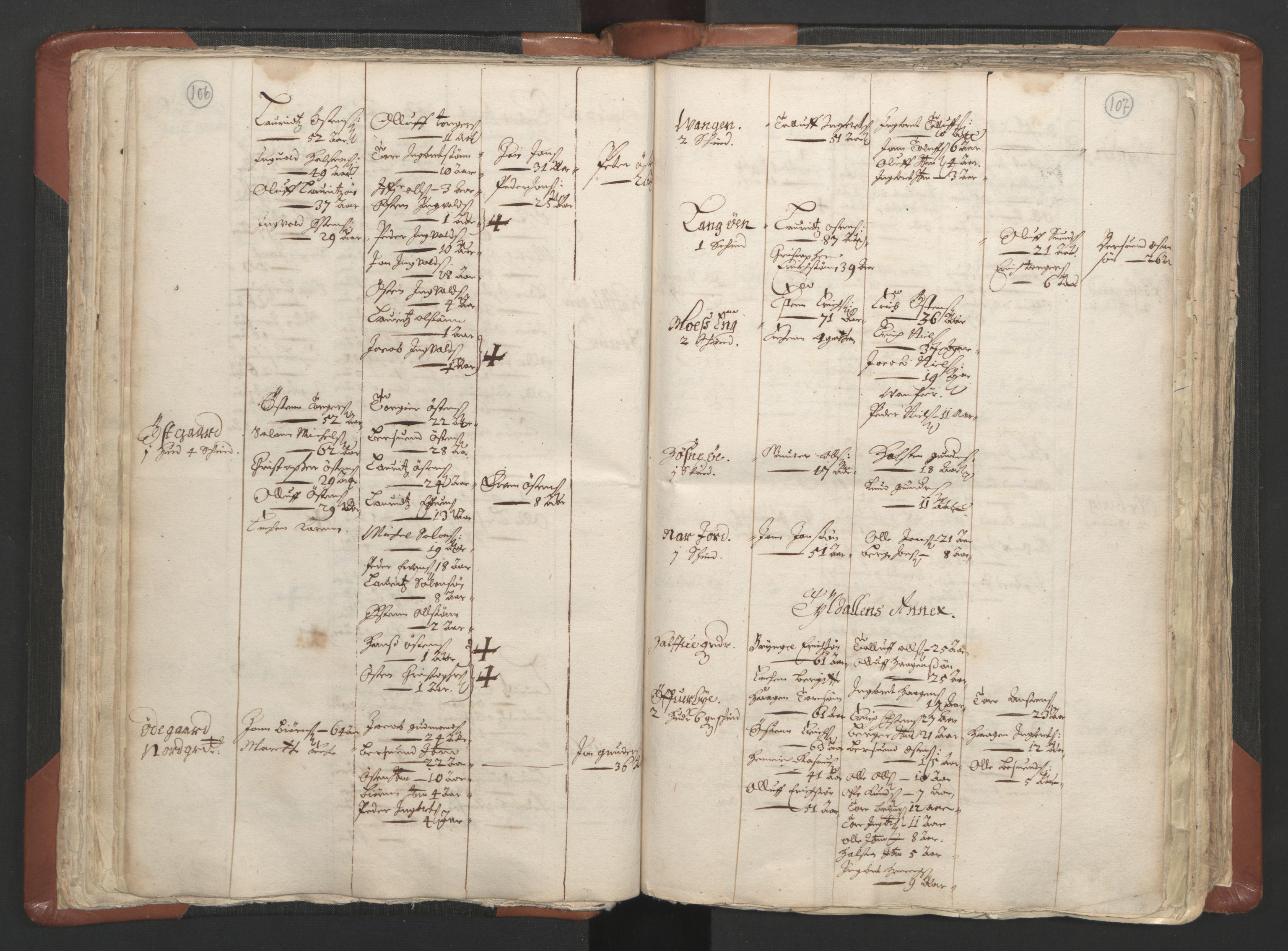 RA, Sogneprestenes manntall 1664-1666, nr. 5: Hedmark prosti, 1664-1666, s. 106-107