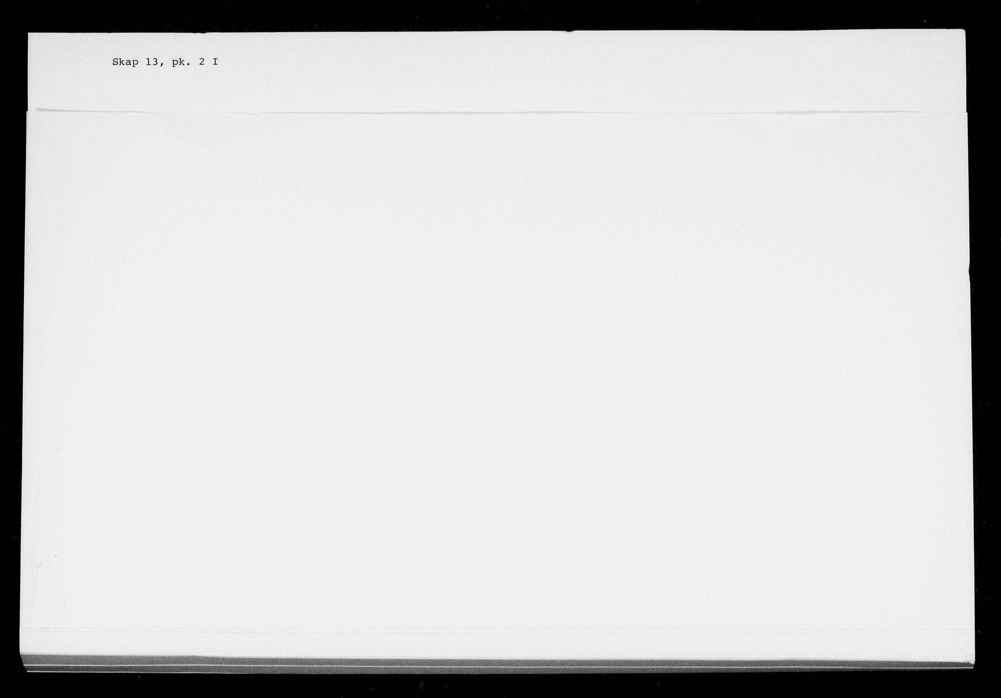 RA, Danske Kanselli, Skapsaker, F/L0052: Skap 13, pakke 2, 1809-1810, s. 2