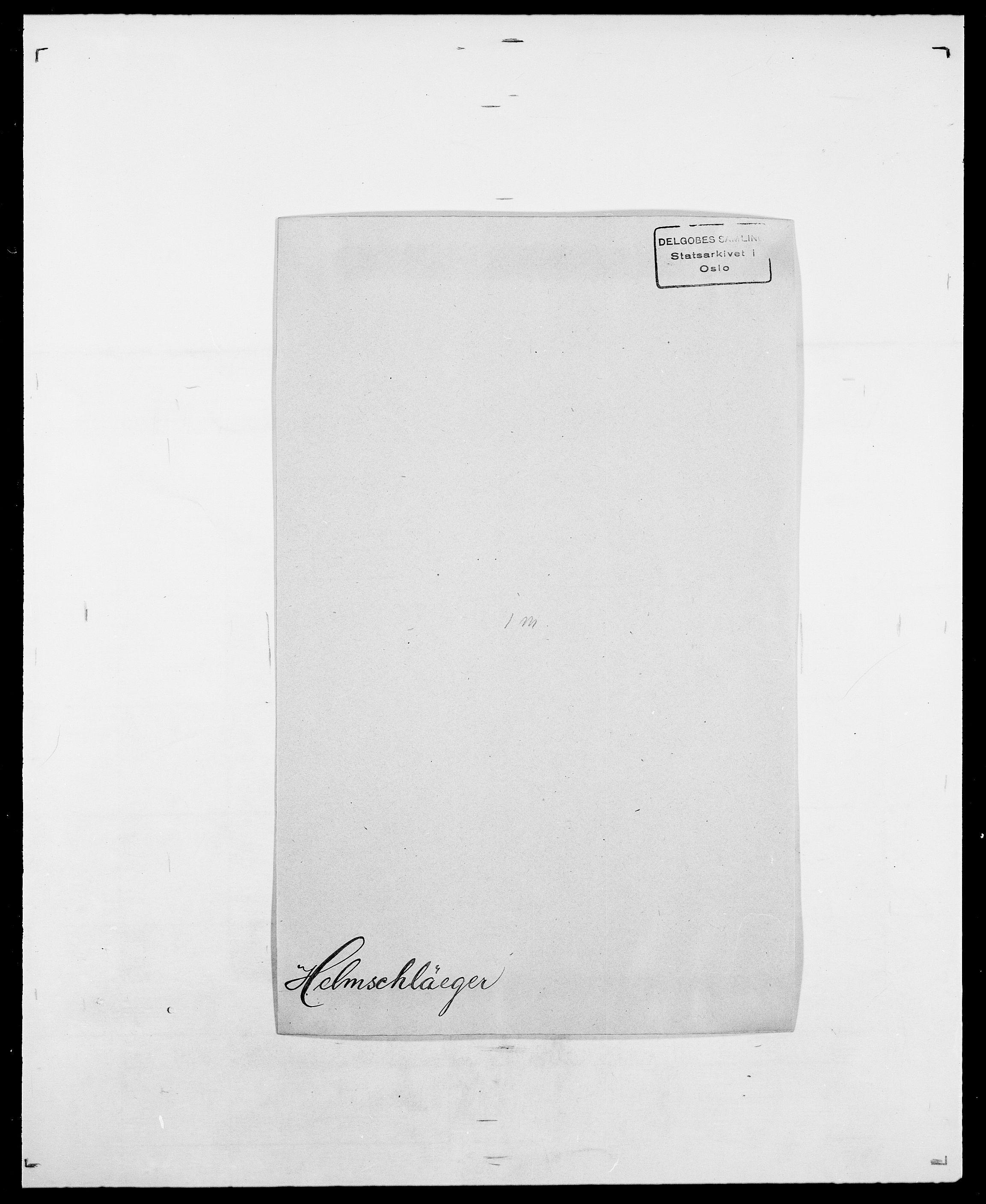 SAO, Delgobe, Charles Antoine - samling, D/Da/L0017: Helander - Hjørne, s. 103