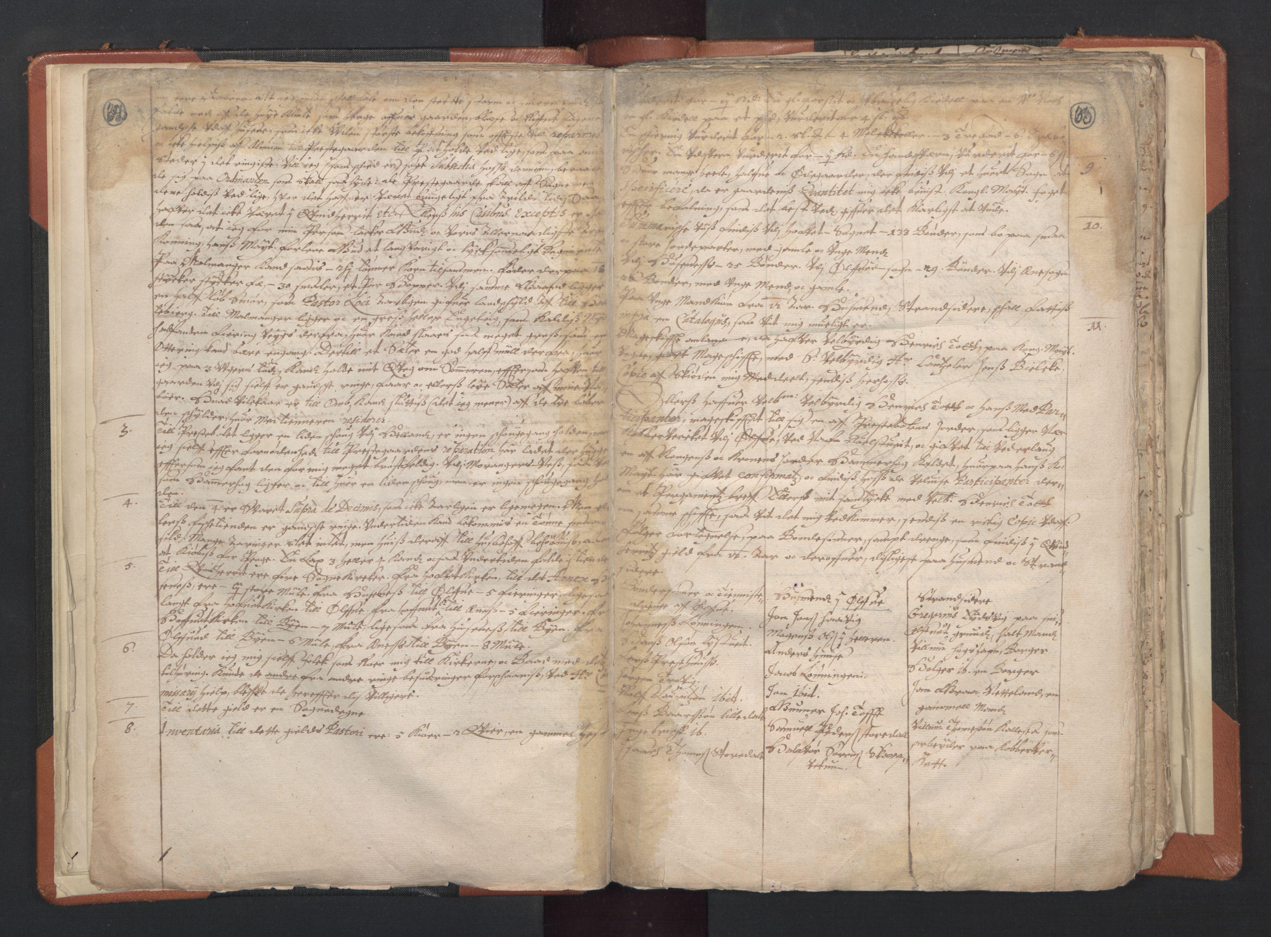 RA, Sogneprestenes manntall 1664-1666, nr. 20: Sunnhordland prosti, 1664-1666, s. 62-63