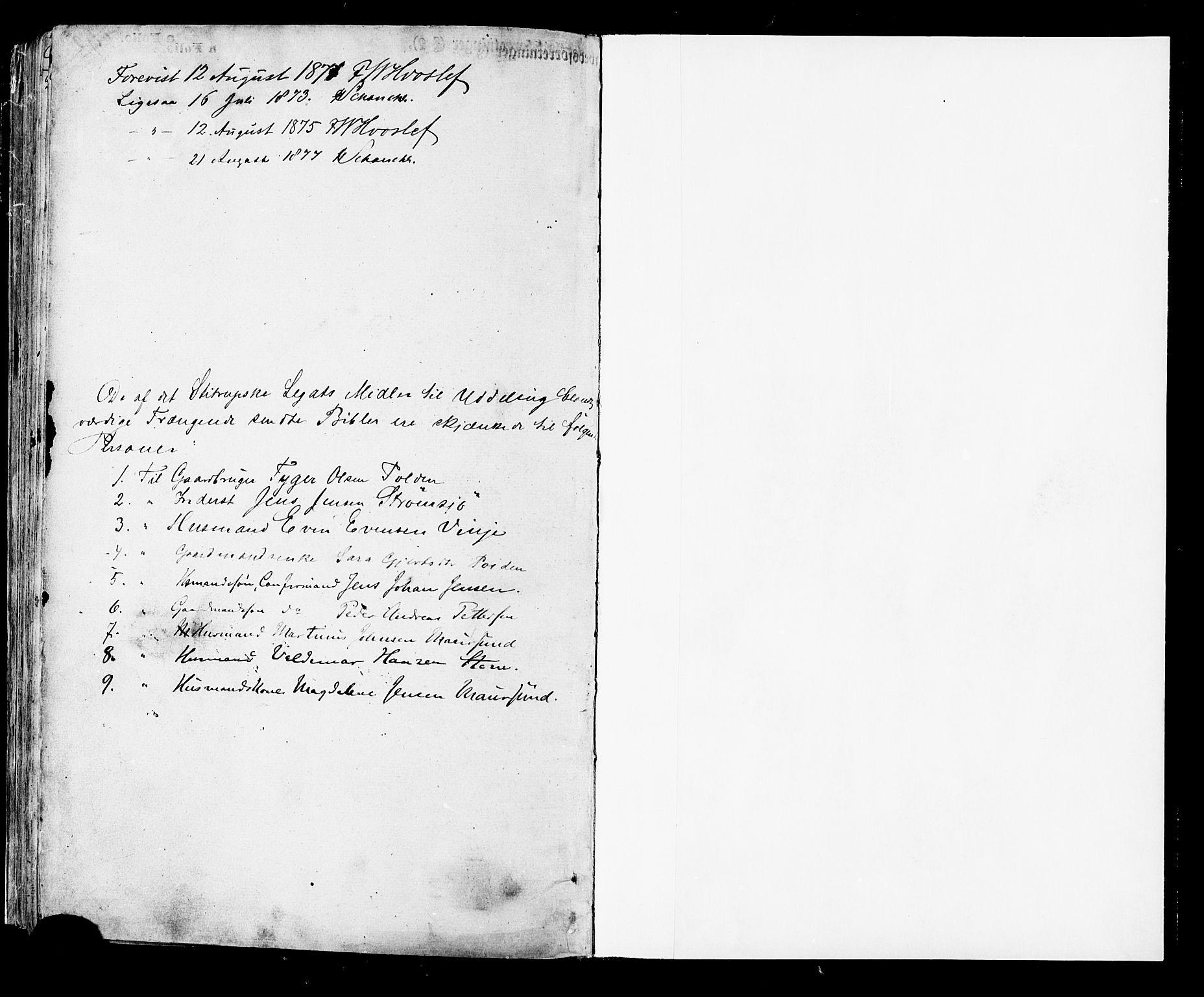 SAT, Ministerialprotokoller, klokkerbøker og fødselsregistre - Nordland, 891/L1301: Ministerialbok nr. 891A06, 1870-1878