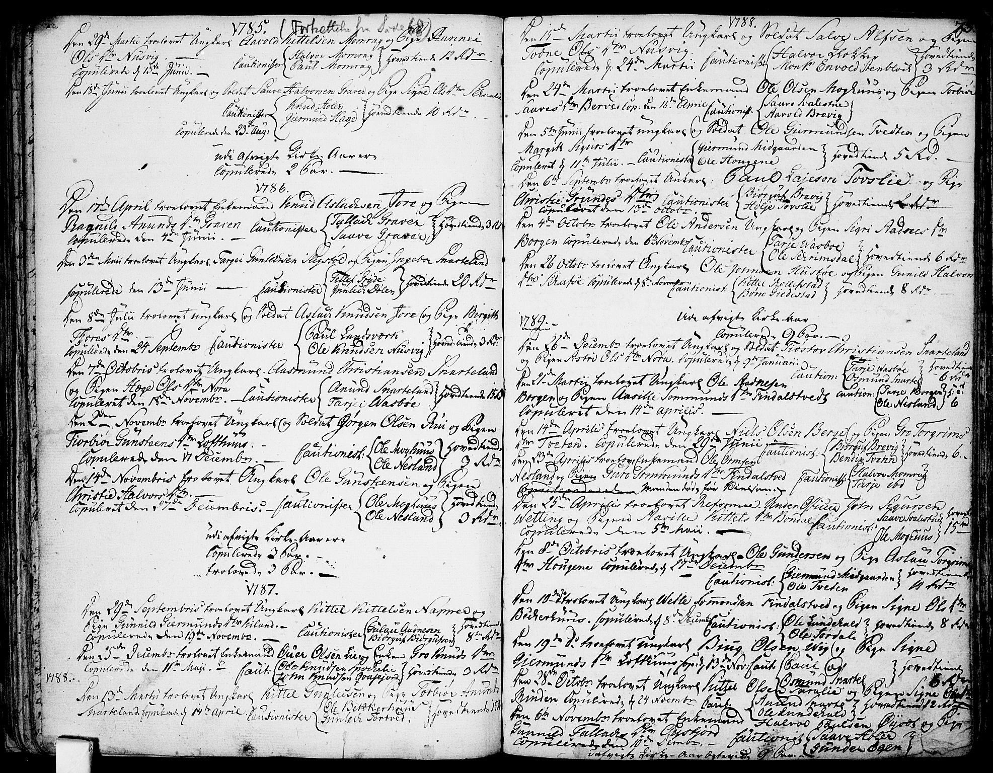 SAKO, Fyresdal kirkebøker, F/Fa/L0002: Ministerialbok nr. I 2, 1769-1814, s. 73