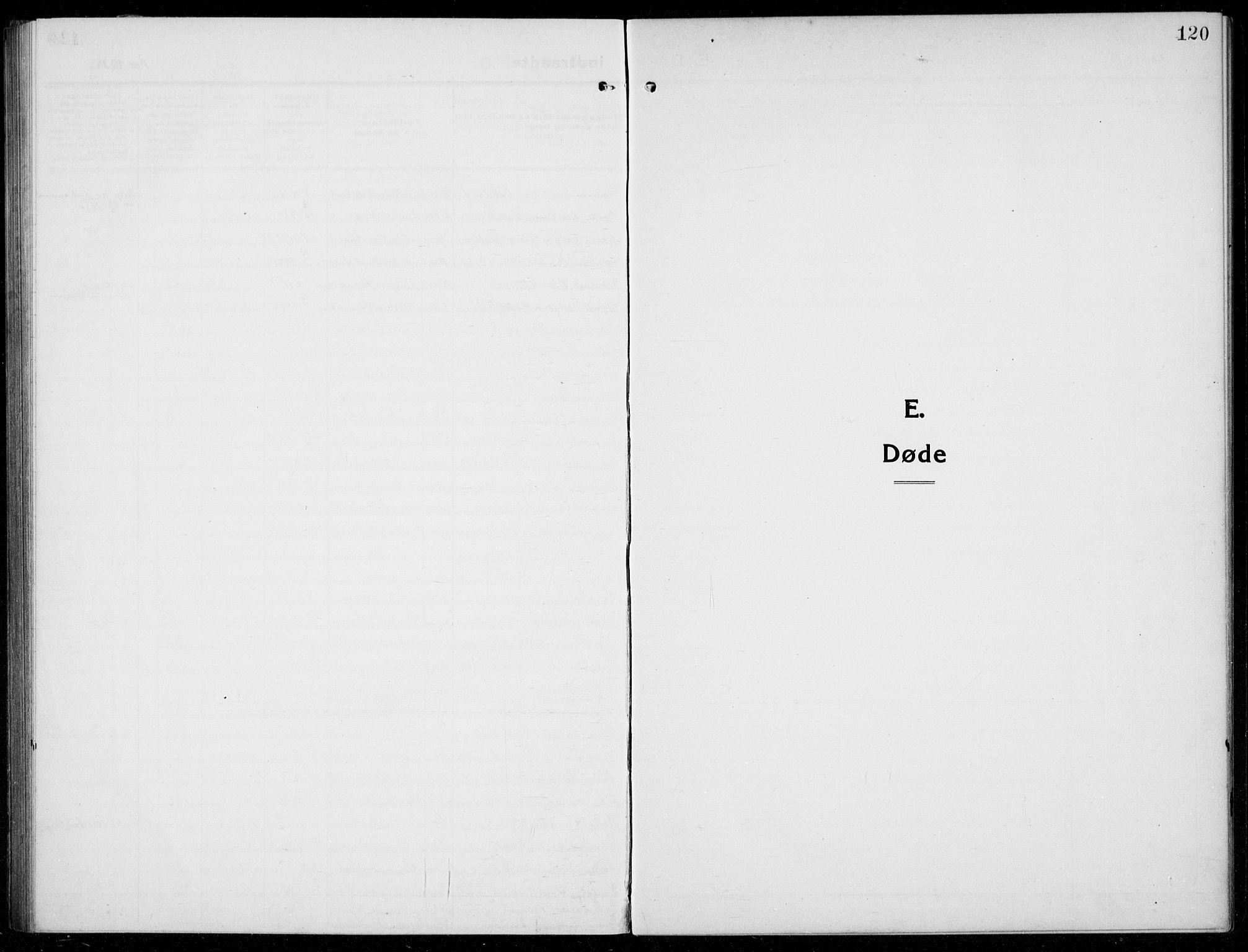 SAB, Husnes Sokneprestembete, H/Hab: Klokkerbok nr. A  3, 1915-1936, s. 120