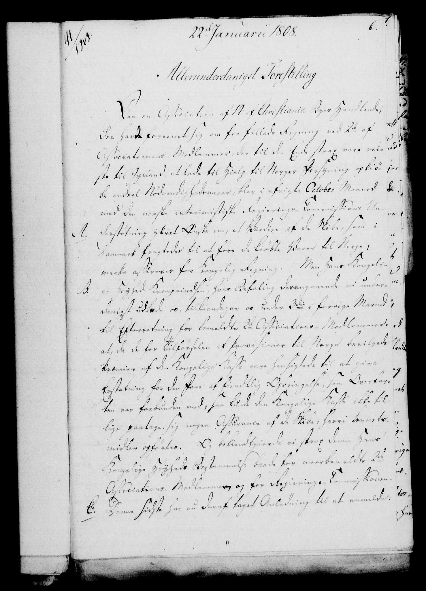 RA, Rentekammeret, Kammerkanselliet, G/Gf/Gfa/L0090: Norsk relasjons- og resolusjonsprotokoll (merket RK 52.90), 1808, s. 53