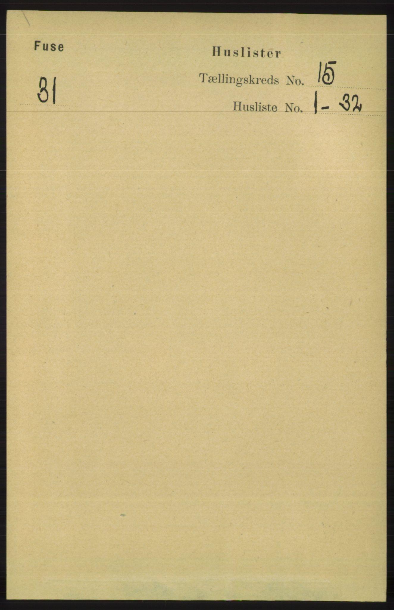 RA, Folketelling 1891 for 1241 Fusa herred, 1891, s. 3360