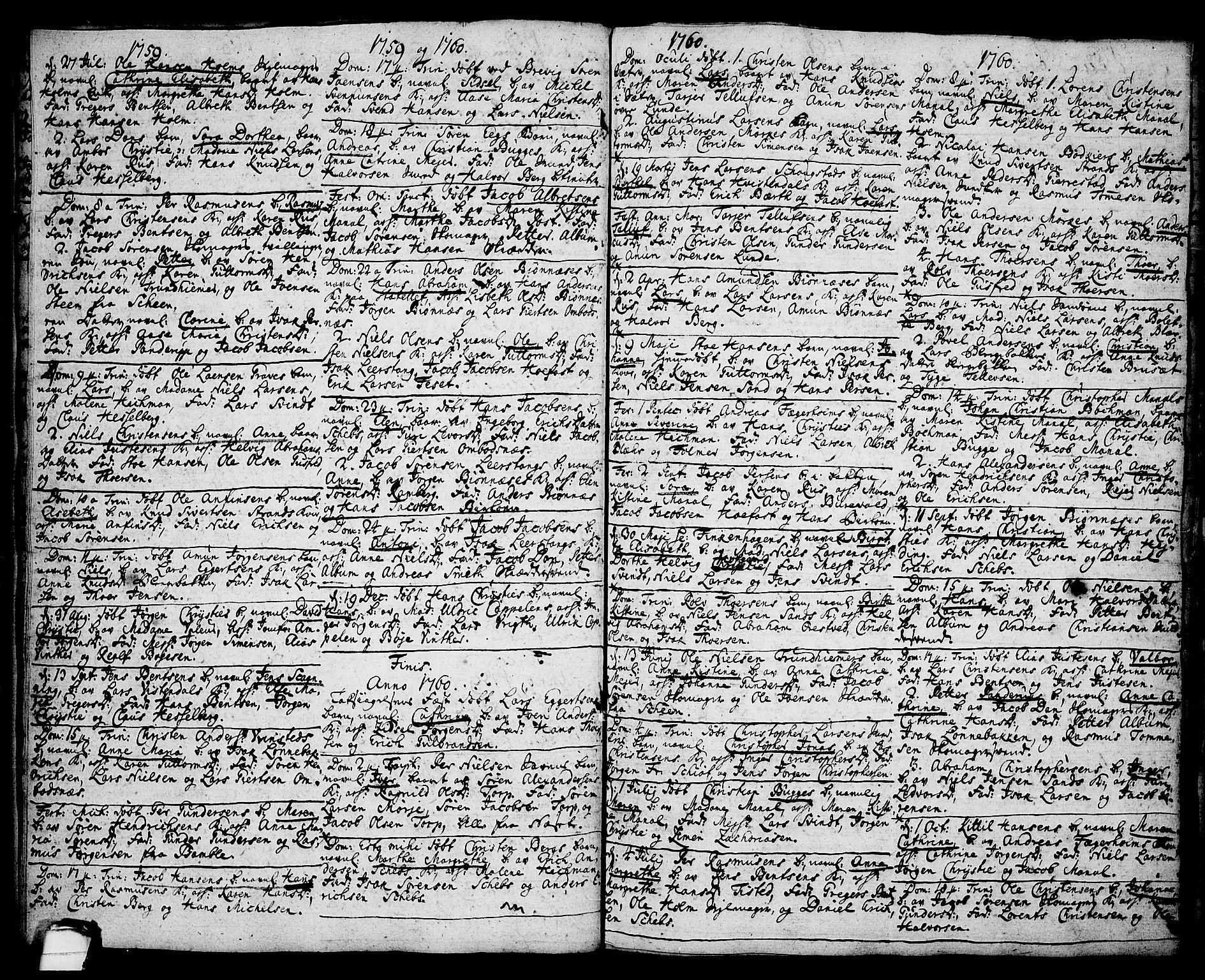 SAKO, Brevik kirkebøker, F/Fa/L0002: Ministerialbok nr. 2, 1720-1764, s. 35g