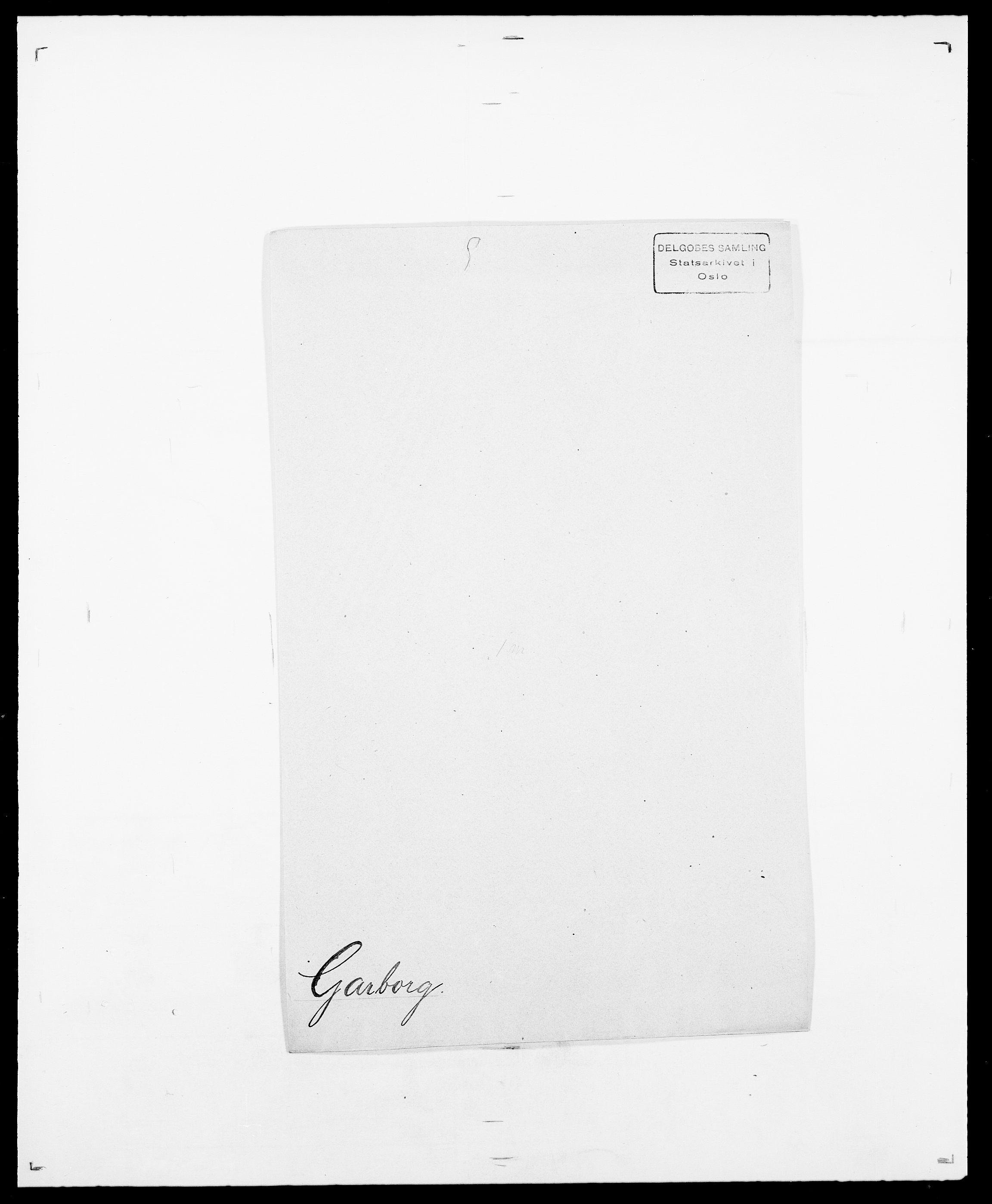 SAO, Delgobe, Charles Antoine - samling, D/Da/L0013: Forbos - Geving, s. 504