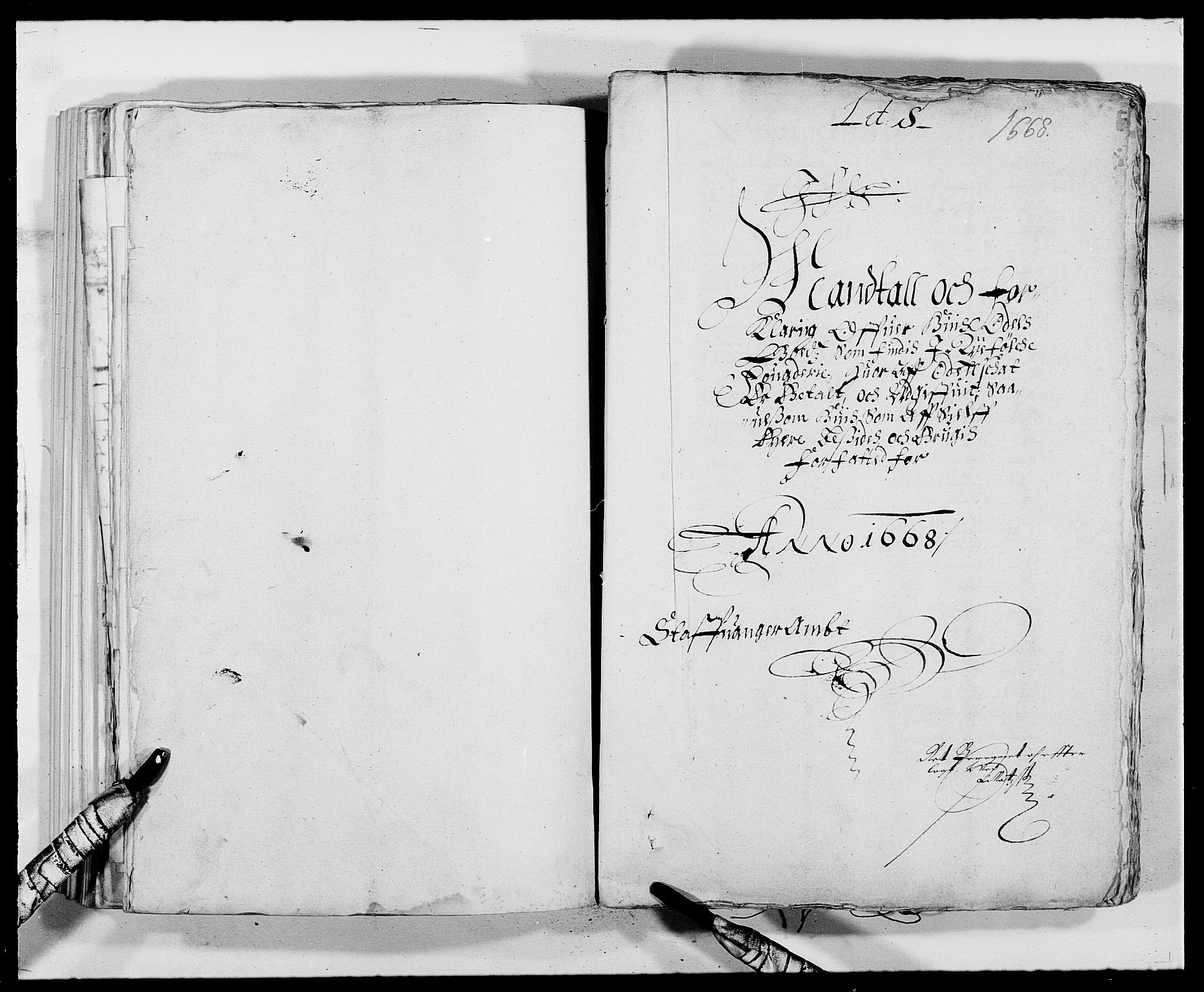 RA, Rentekammeret inntil 1814, Reviderte regnskaper, Fogderegnskap, R47/L2841: Fogderegnskap Ryfylke, 1665-1669, s. 264