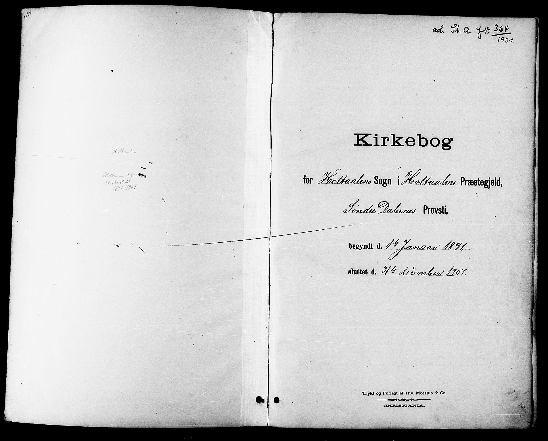 SAT, Ministerialprotokoller, klokkerbøker og fødselsregistre - Sør-Trøndelag, 685/L0978: Klokkerbok nr. 685C03, 1891-1907