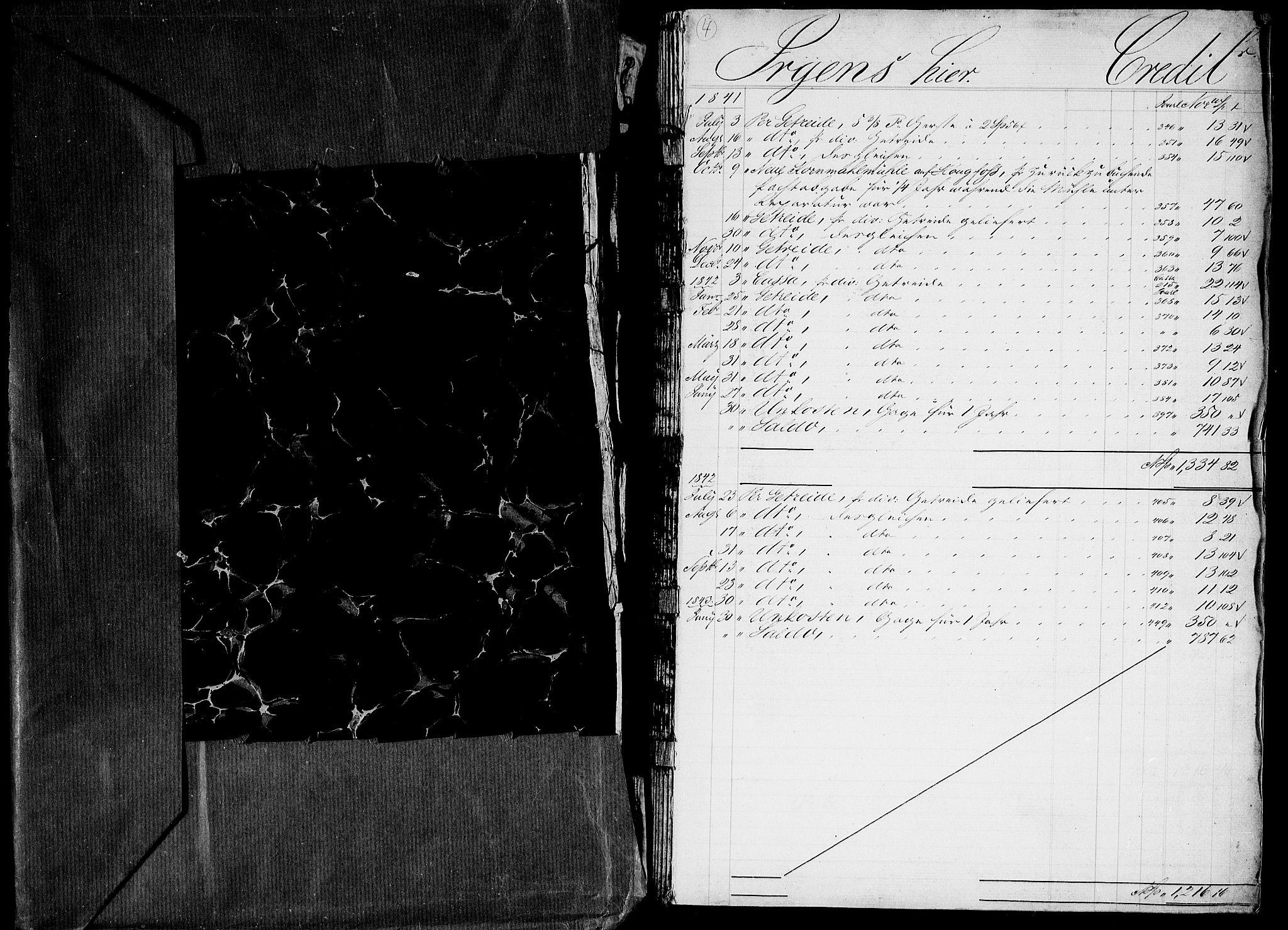 RA, Modums Blaafarveværk, G/Gd/Gda/L0166, 1839-1844, s. 2